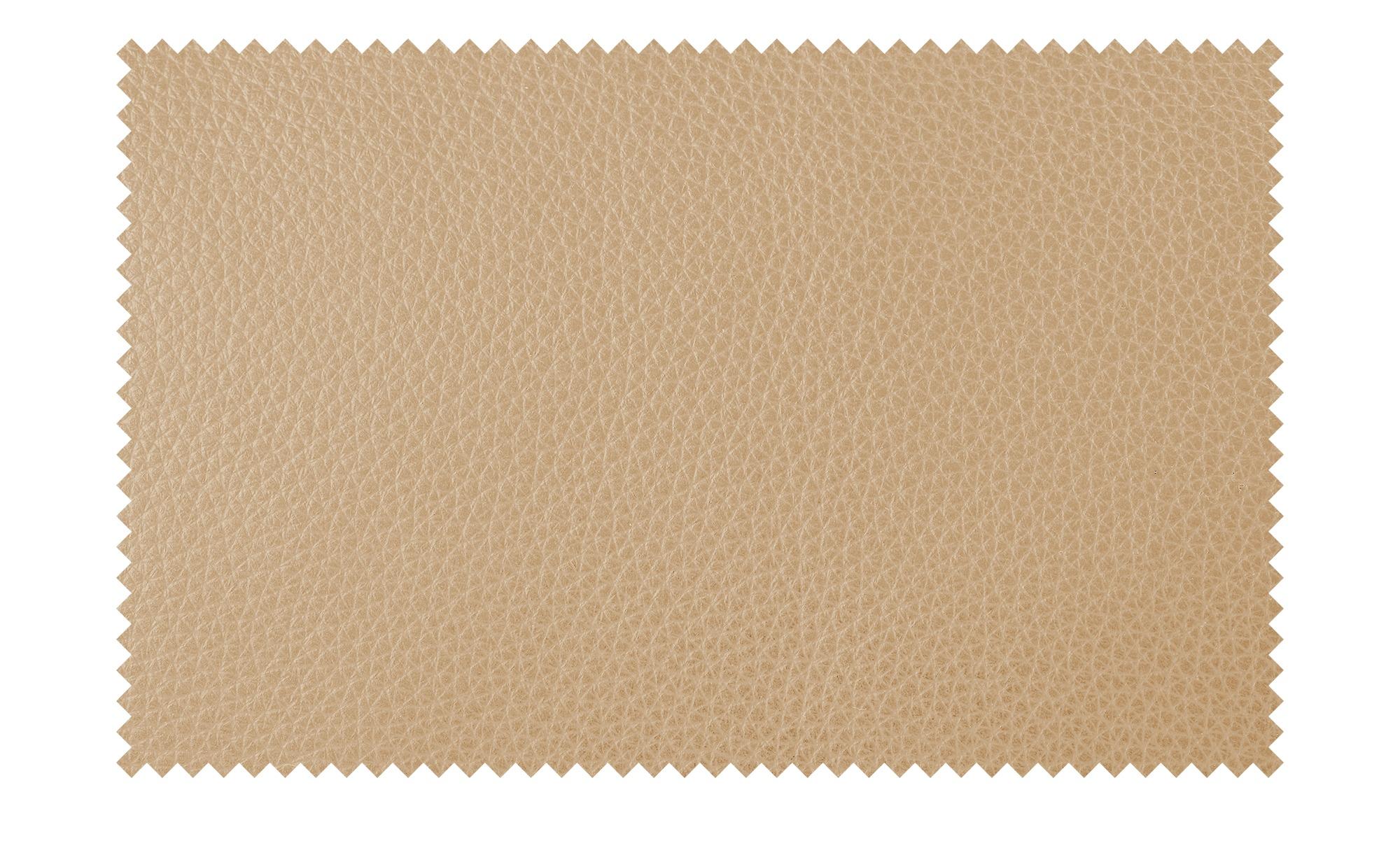 Nils Olsen Ledersofa  Alva ¦ beige ¦ Maße (cm): B: 244 H: 87 T: 101 Polstermöbel > Sofas > 3-Sitzer - Höffner