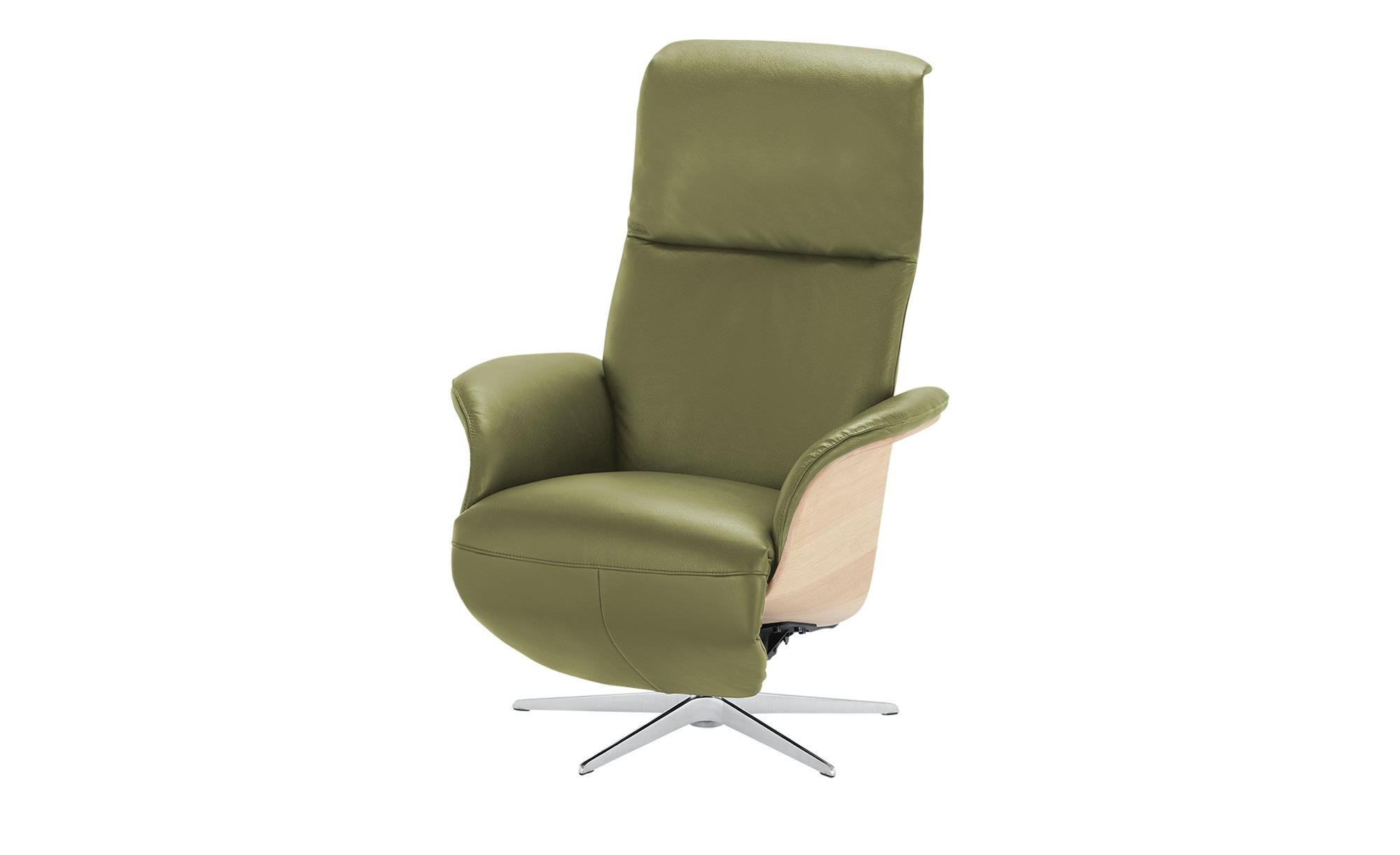 Nils Olsen Relaxsessel  Frederik ¦ grün ¦ Maße (cm): B: 78 H: 113 T: 79 Polstermöbel > Sessel > Fernsehsessel - Höffner