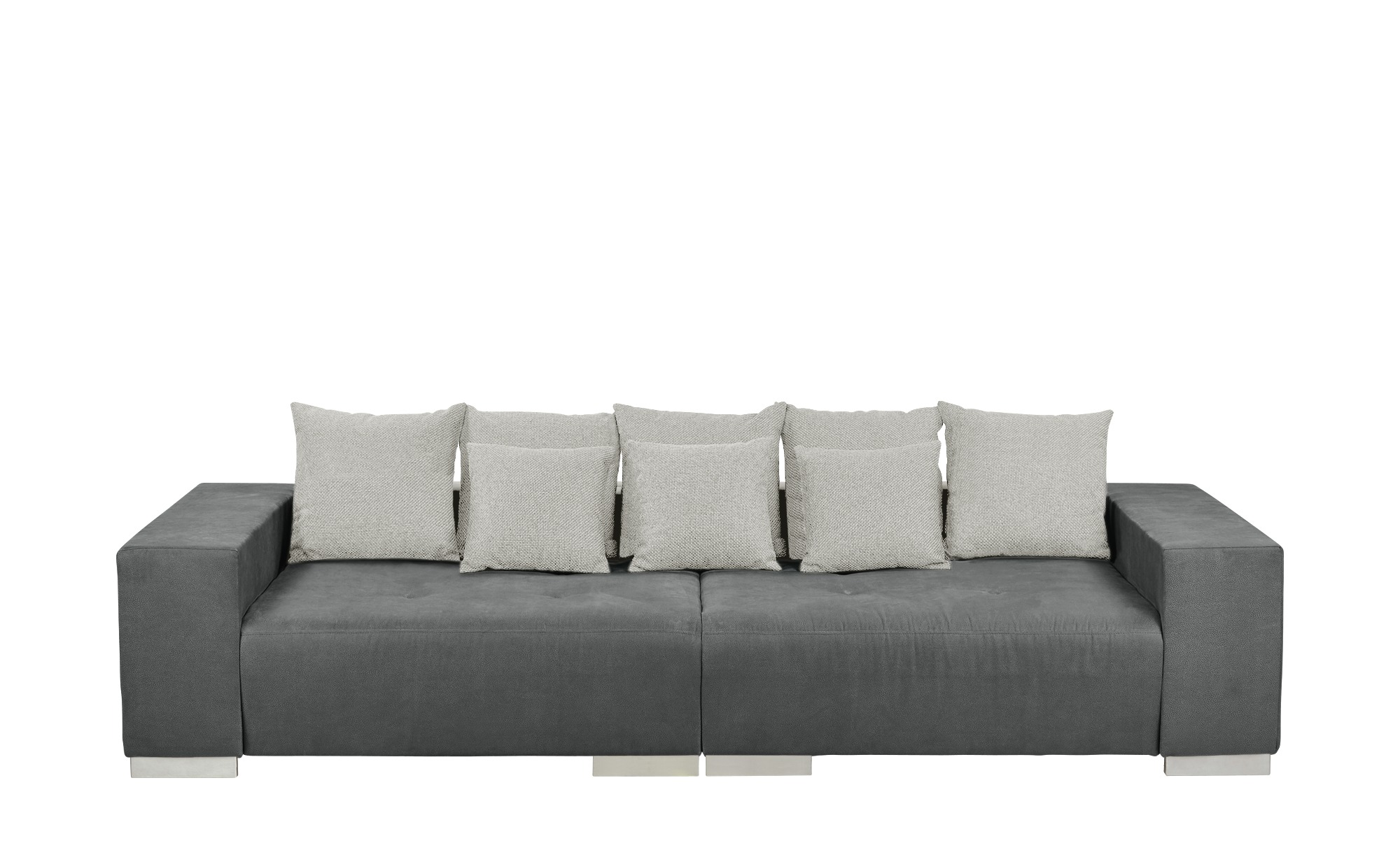 switch Big Sofa  Maxima ¦ grau Polstermöbel > Sofas > Big-Sofas - Höffner