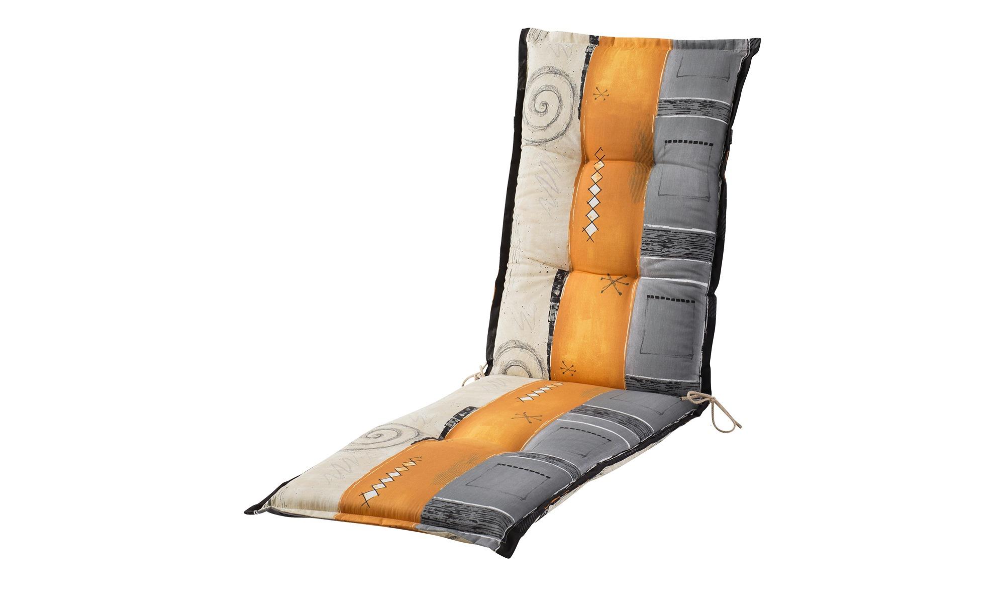 Relaxauflage  Tirana ¦ mehrfarbig ¦ Druckstoff, 100% Baumwolle ¦ Maße (cm): B: 50 H: 8 Garten > Auflagen & Kissen > Sonstige Sitzkissen - Höffner