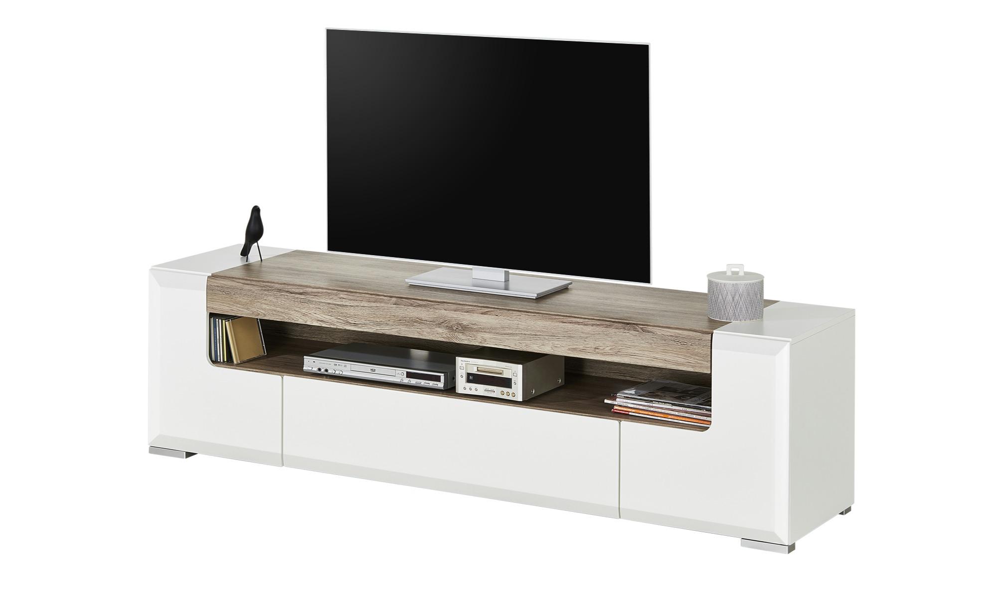 TV-Lowboard  Varadero ¦ weiß ¦ Maße (cm): B: 190 H: 52 T: 45 TV- & Media Möbel > TV-Racks - Höffner