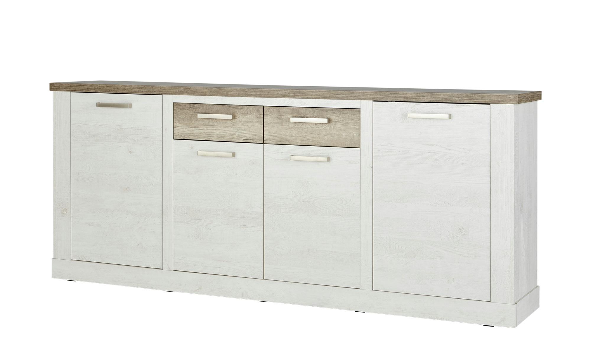 Sideboard  Viareggio ¦ holzfarben ¦ Maße (cm): B: 213 H: 90 T: 41 Kommoden & Sideboards > Sideboards - Höffner
