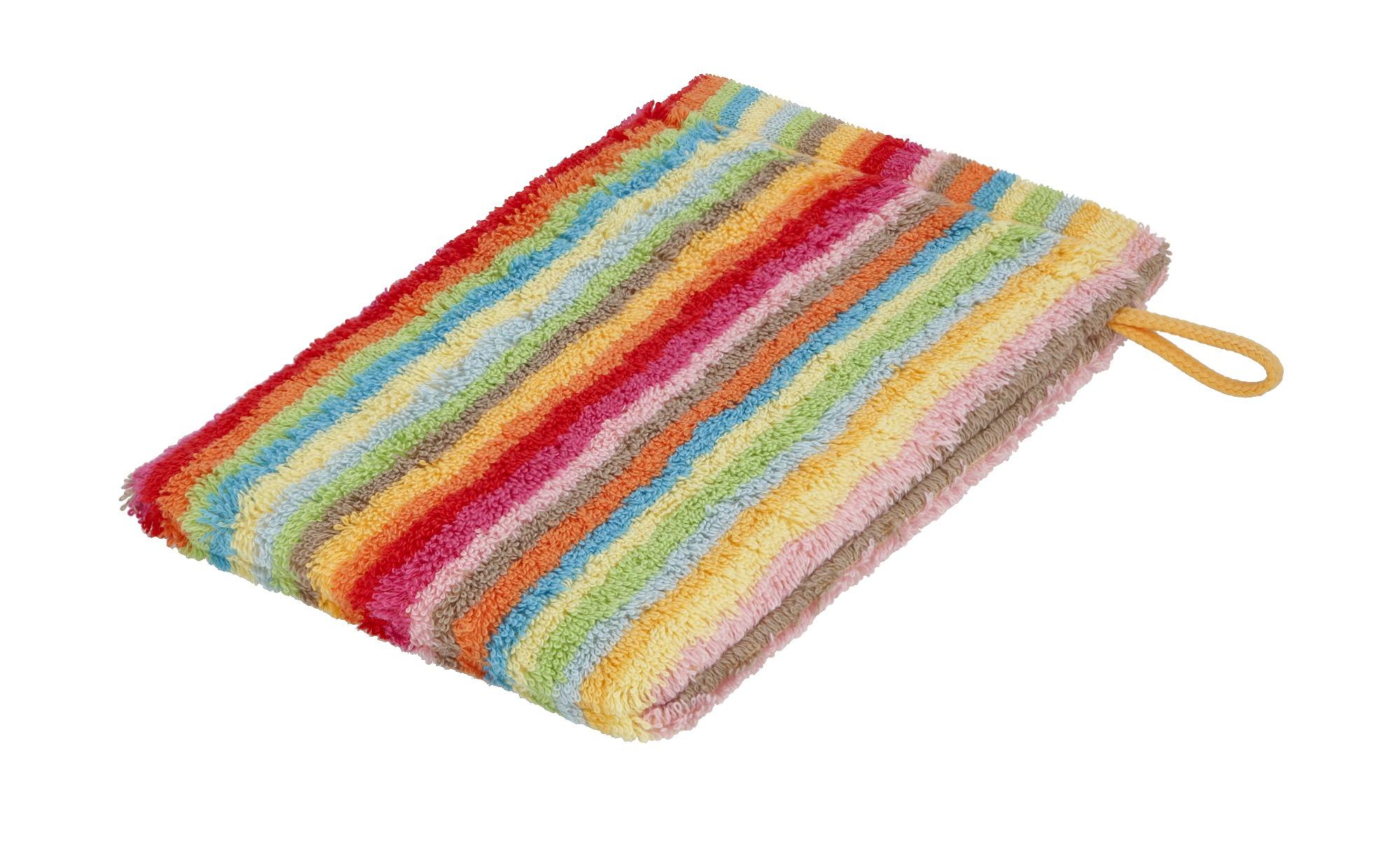 CaWö Waschhandschuh  7008 ¦ mehrfarbig ¦ 100% Baumwolle ¦ Maße (cm): B: 16 Badtextilien und Zubehör > Handtücher & Badetücher > Handtücher - Höffner