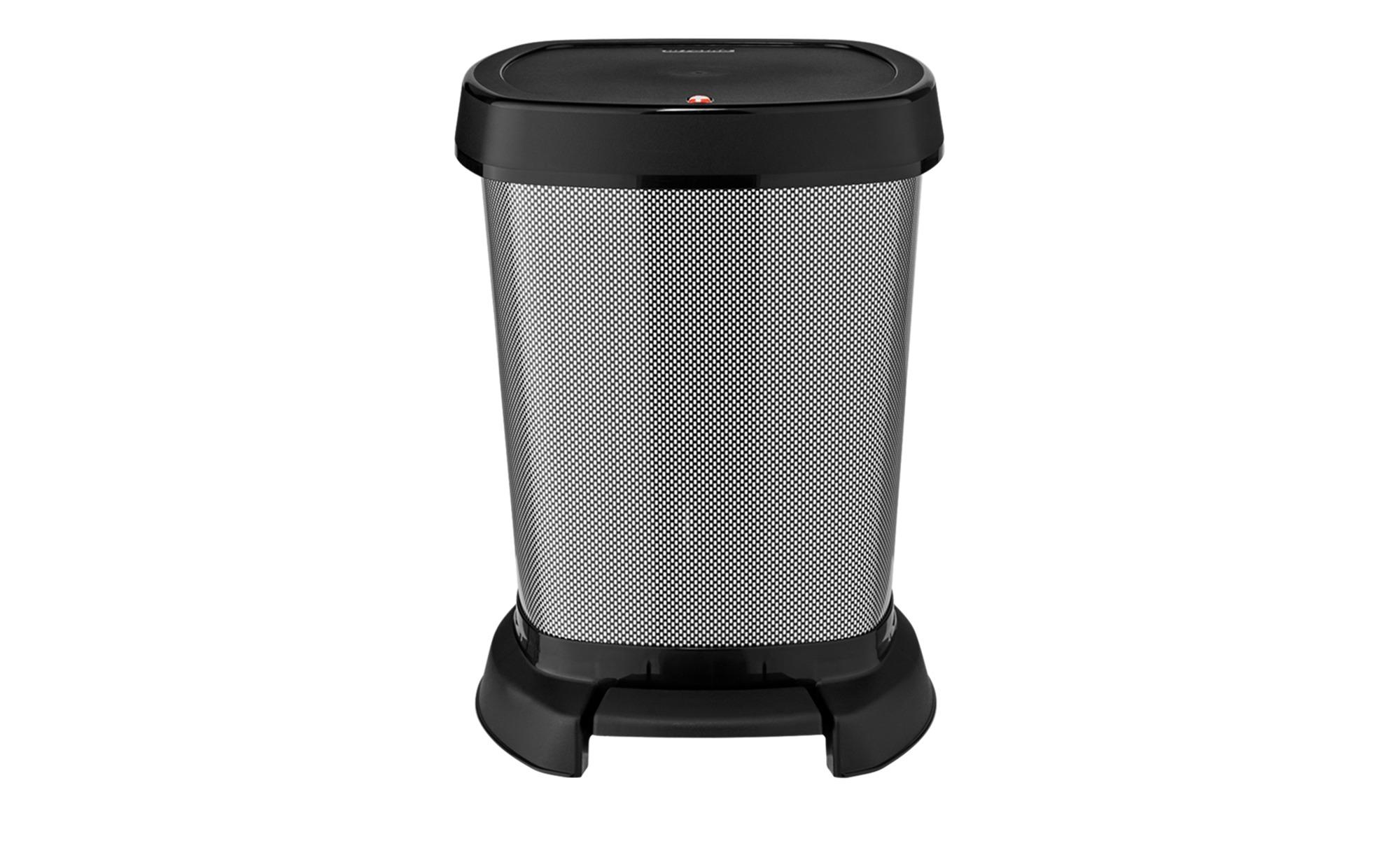 #Rotho Universaleimer 6 l Carbon  Paso ¦ schwarz ¦ Kunststoff ¦ Maße (cm): B: 23,4 H: 29,5 T: 21,9 Küchenzubehör & Helfer > Abfallbehälter – Höffner#