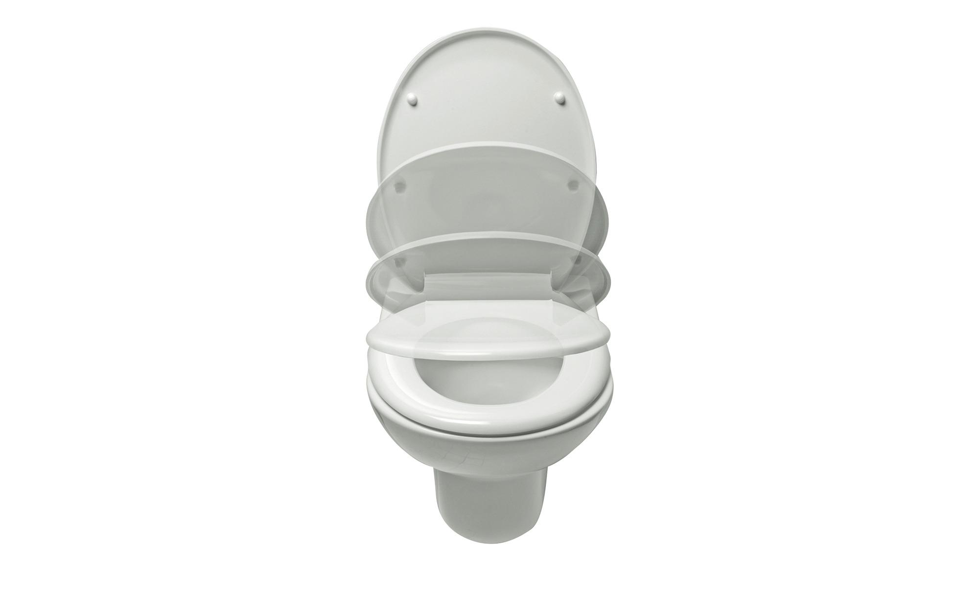 WC-Sitz  Paris ¦ weiß Badtextilien und Zubehör > Badaccessoires - Höffner