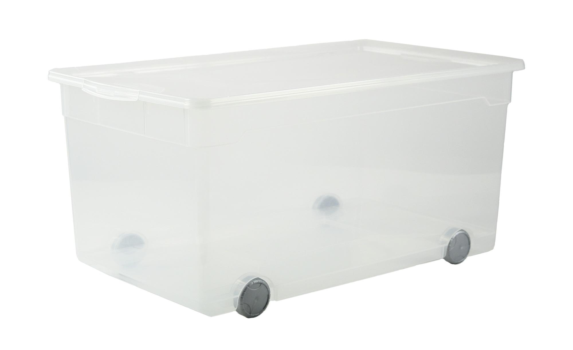 Rollbare Wäschebox