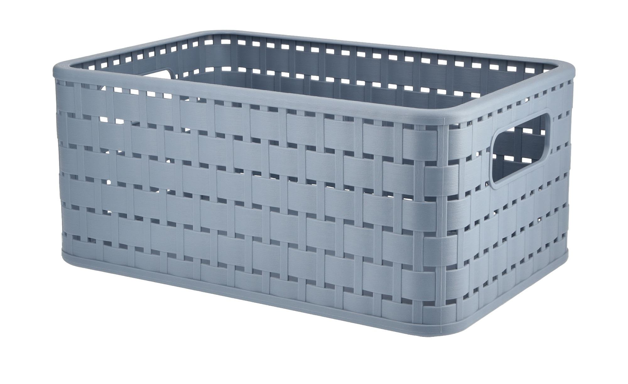 Rotho Aufbewahrungsbox ¦ blau ¦ Kunststoff Aufbewahrung > Aufbewahrungsboxen > sonstige Aufbewahrungsmittel - Höffner
