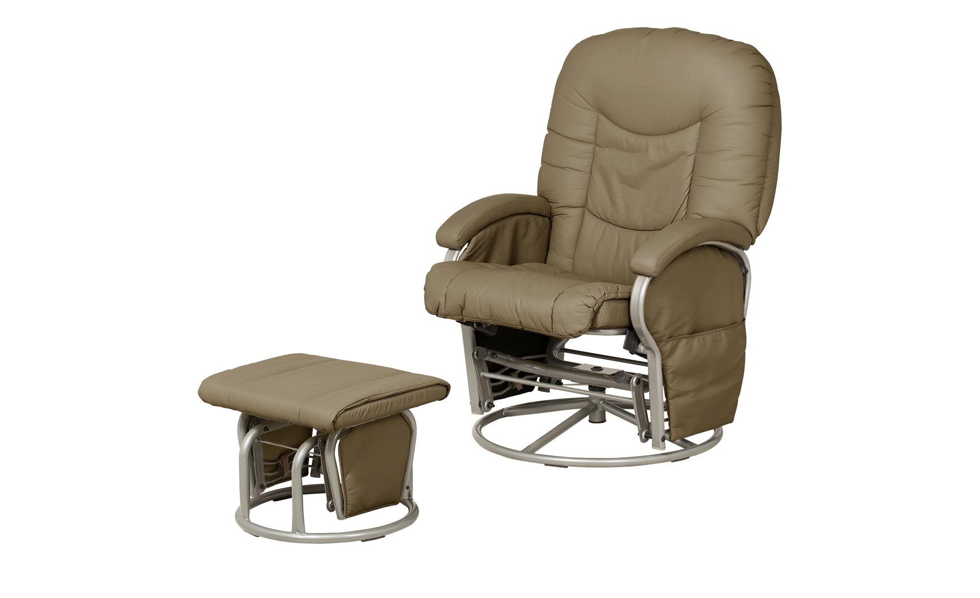 Hauck Still- und Entspannungsstuhl creme - Kunstleder Glider ¦ creme ¦ Maße (cm): B: 72 H: 102 Polstermöbel > Sessel > Drehsessel - Höffner