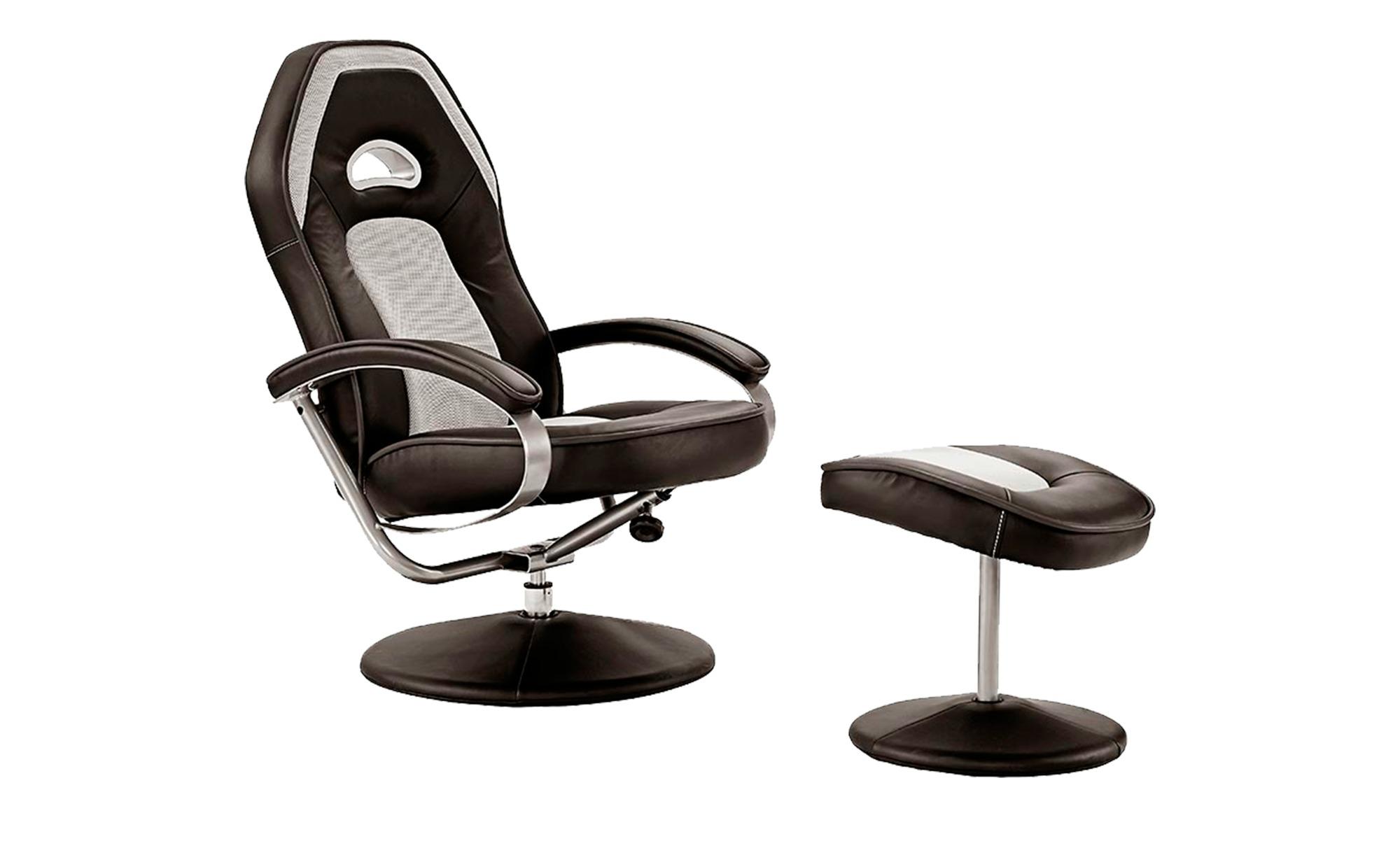 Relaxsessel  Jutta ¦ schwarz ¦ Maße (cm): B: 70 H: 105 T: 81 Polstermöbel > Sessel > Fernsehsessel - Höffner