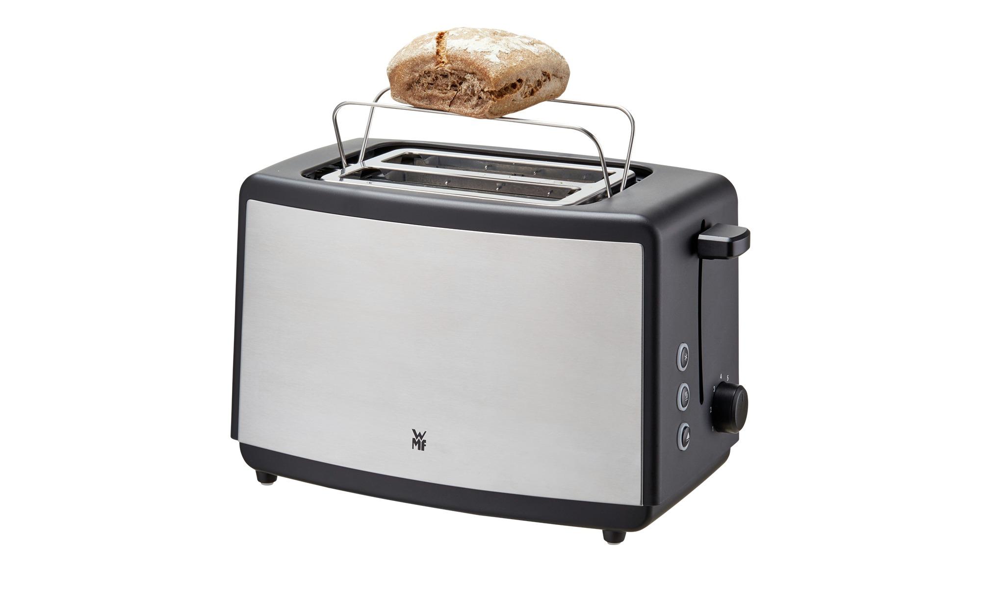 WMF Toaster Bueno EDT  0414110011 ¦ silber ¦ Kunststoff, Edelstahl ¦ Maße (cm): B: 30 H: 18 T: 16 Elektrokleingeräte > Toaster - Höffner | Küche und Esszimmer > Küchengeräte > Toaster | Möbel Höffner DE