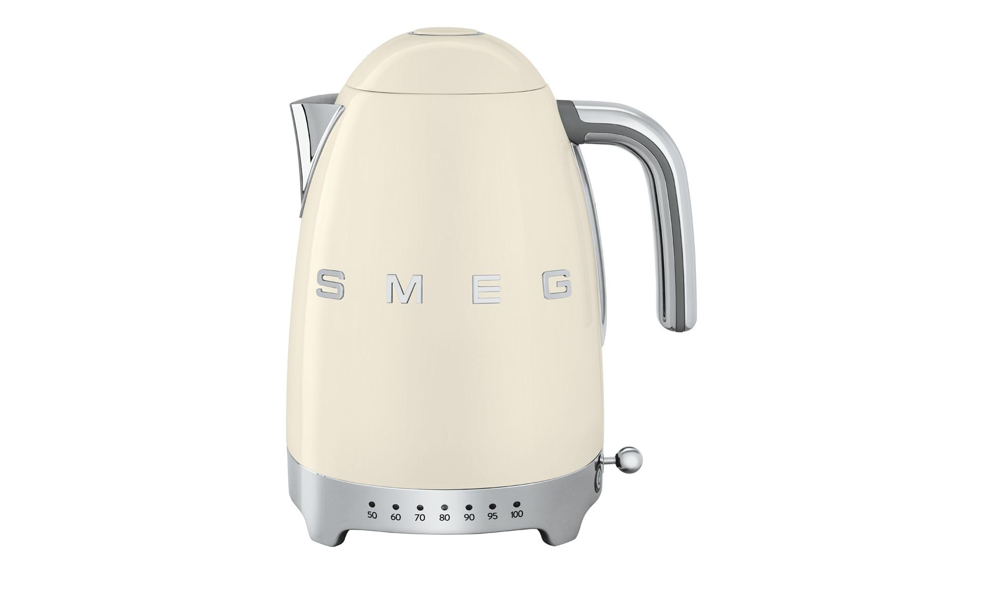 smeg Wasserkocher KLF04BLEU | Schwarz | Möbel Höffner
