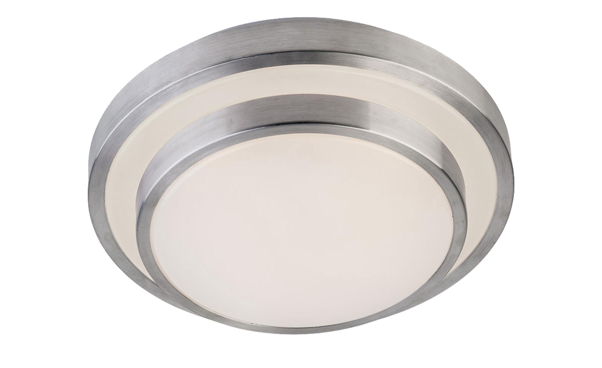 LED- Deckenleuchte, 1-flammig, titanfarben, rund ¦ silberØ: [28.0] Lampen & Leuchten > Innenleuchten > Deckenleuchten - Höffner