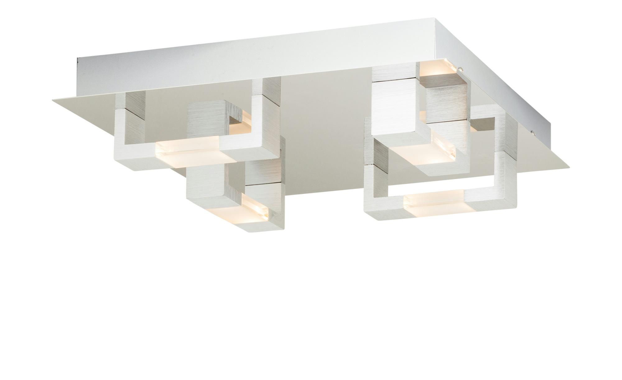 Paul Neuhaus LED Deckenleuchte geometrische Form ¦ silber ¦ Maße (cm): B: 35 Lampen & Leuchten > Innenleuchten > Deckenleuchten - Höffner