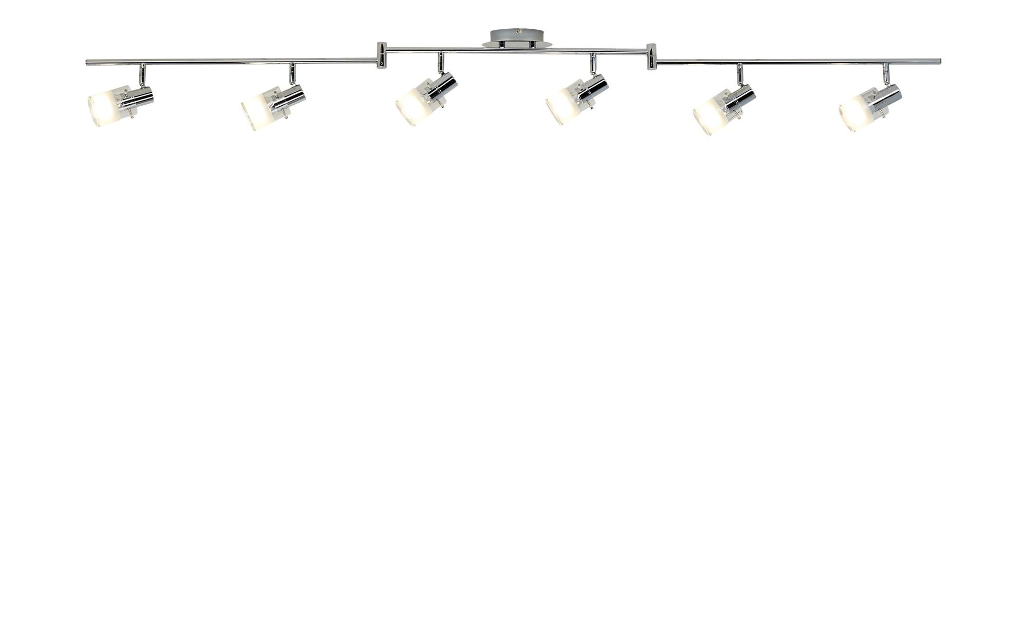KHG LED- Deckenstrahler, 6-flammig, chrom ¦ silber ¦ Maße (cm): B: 13,5 H: 8 Lampen & Leuchten > LED-Leuchten > LED-Strahler & Spots - Höffner