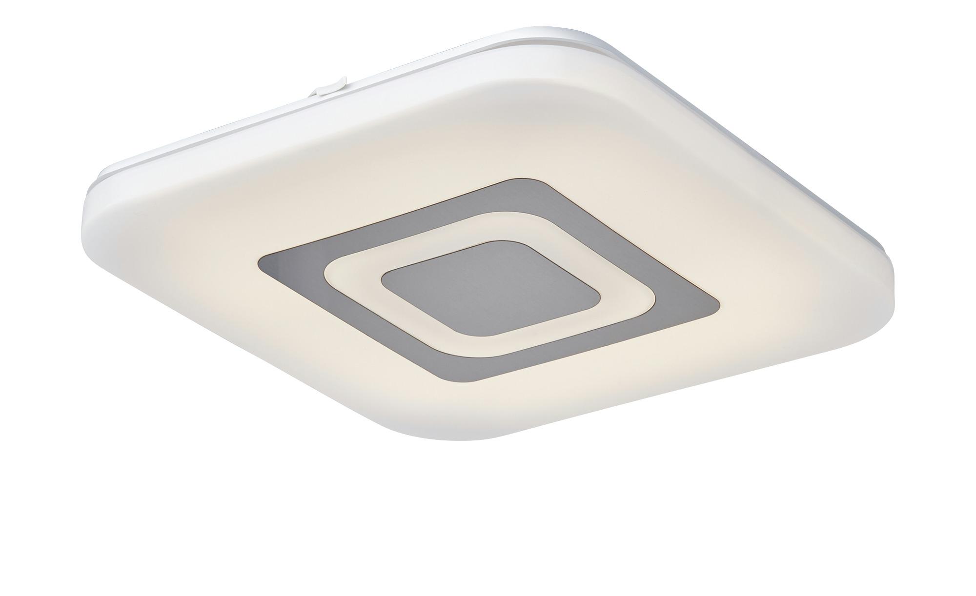 KHG LED-Deckenleuchte, 1-flammig weiß, eckig ¦ weiß ¦ Maße (cm): B: 35 H: 6 Lampen & Leuchten > Innenleuchten > Deckenleuchten - Höffner