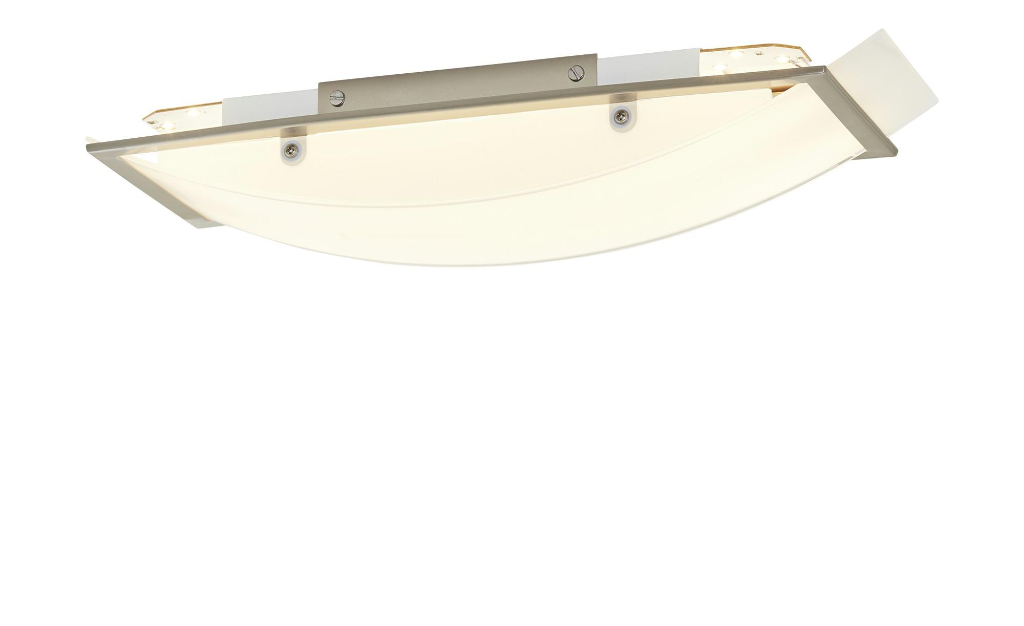 KHG LED-Deckenleuchte, Weiß ¦ silber ¦ Maße (cm): B: 15 H: 8 Lampen & Leuchten > Innenleuchten > Deckenleuchten - Höffner