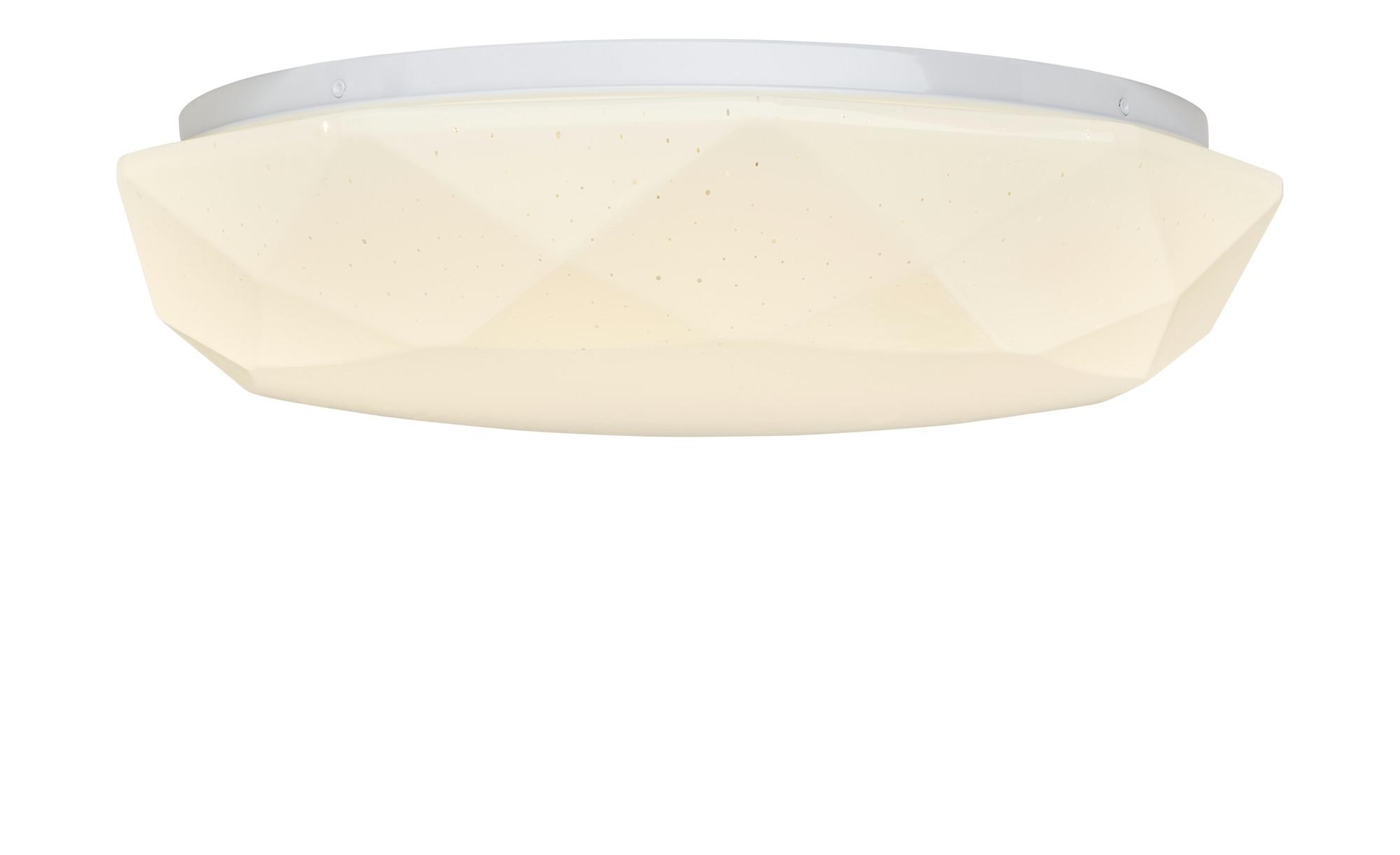 KHG LED-Deckenleuchte, 1-flammig ¦ weiß ¦ Maße (cm): H: 11 Ø: [40.5] Lampen & Leuchten > Innenleuchten > Deckenleuchten - Höffner
