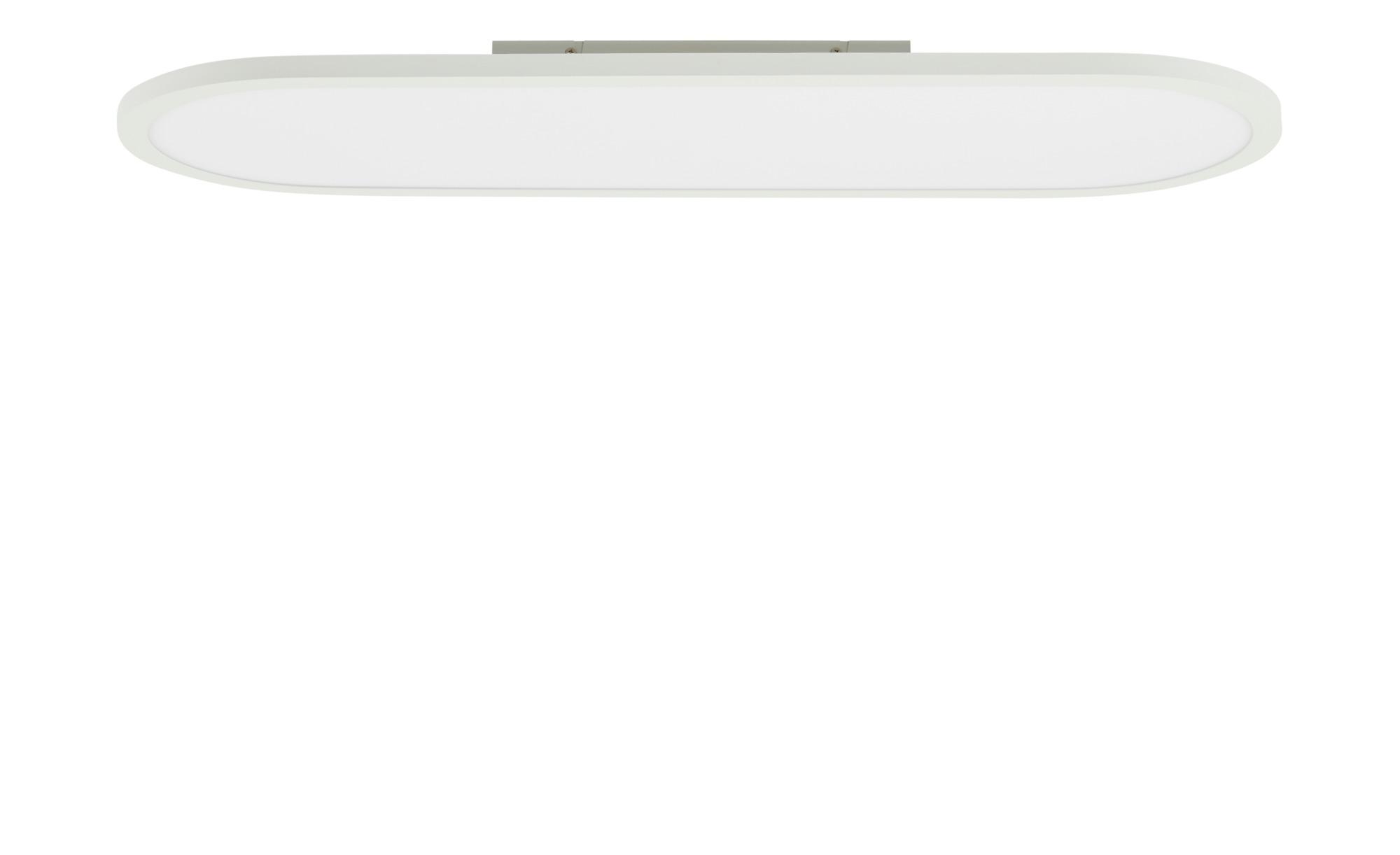 KHG LED-Deckenleuchte, 1-flammig, weiß, oval ¦ weiß ¦ Maße (cm): B: 30 H: 5 Lampen & Leuchten > Innenleuchten > Deckenleuchten - Höffner