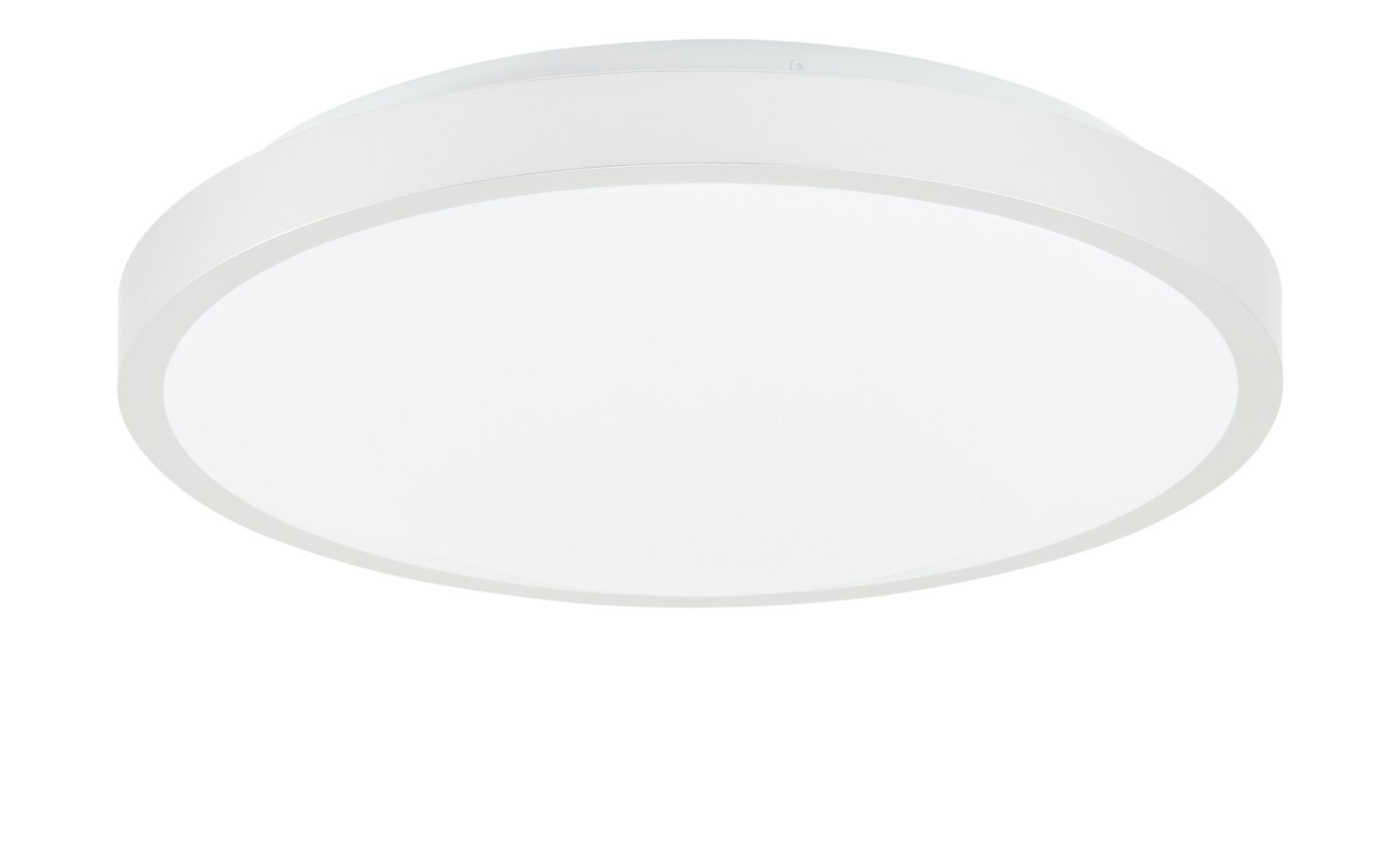 KHG LED-Deckenleuchte, 1-flammig, rund ¦ weiß ¦ Maße (cm): H: 8 Ø: 40 Lampen & Leuchten > Innenleuchten > Deckenleuchten - Höffner