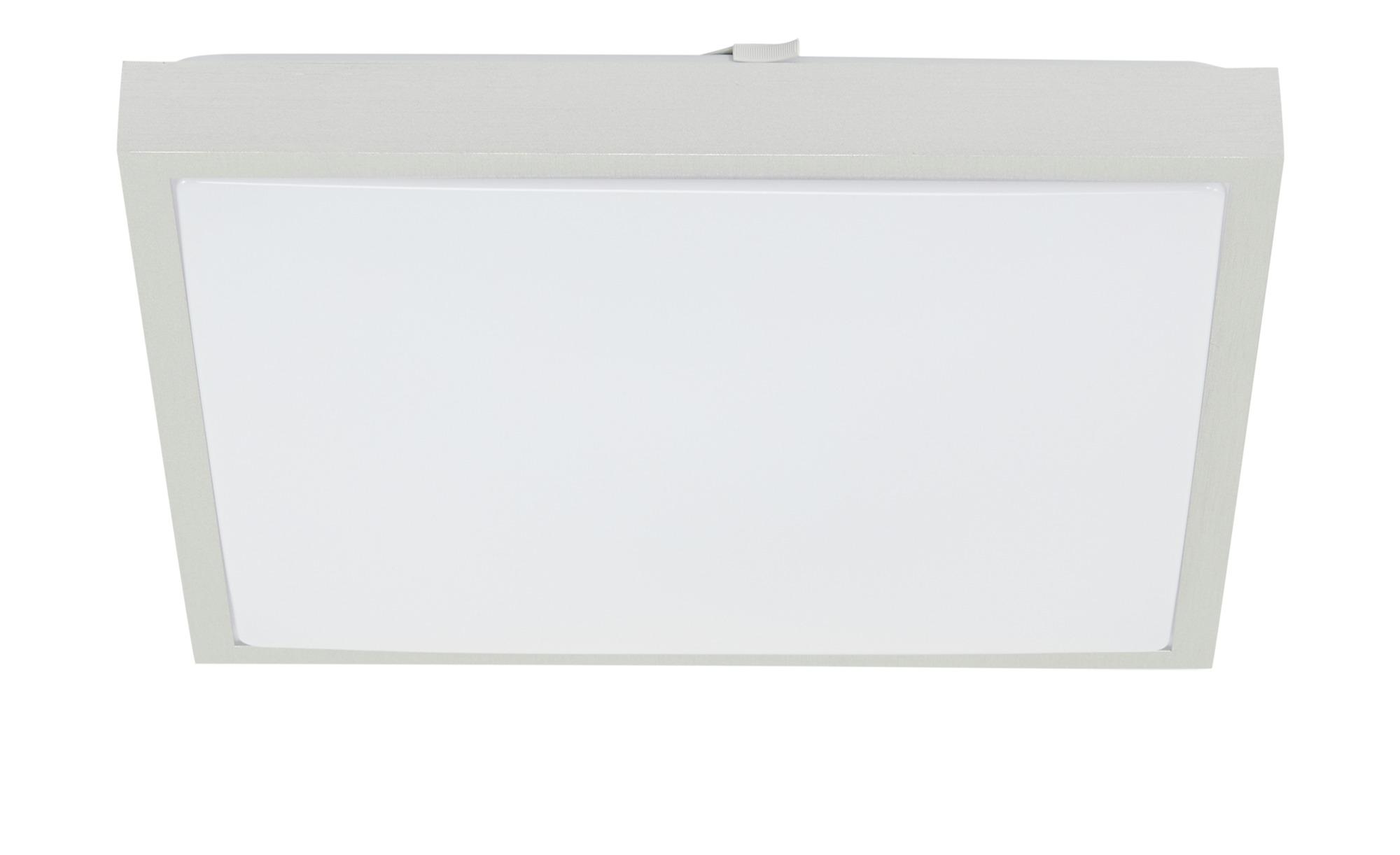 KHG LED-Deckenleuchte, 1-flammig, weiß, eckig ¦ weiß ¦ Maße (cm): B: 40 H: 8 Lampen & Leuchten > Innenleuchten > Deckenleuchten - Höffner