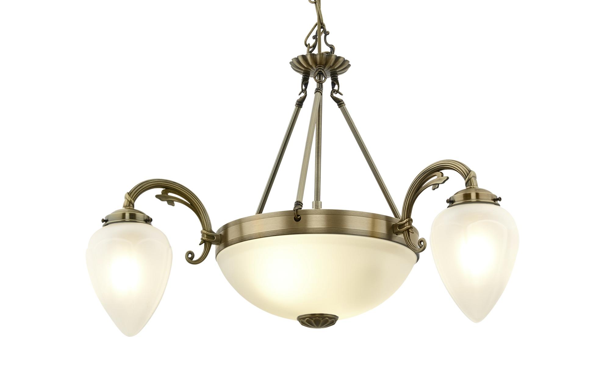 KHG Kronleuchter ¦ gold ¦ Maße (cm): H: 146 Ø: 56 Lampen & Leuchten > Innenleuchten > Kronleuchter - Höffner
