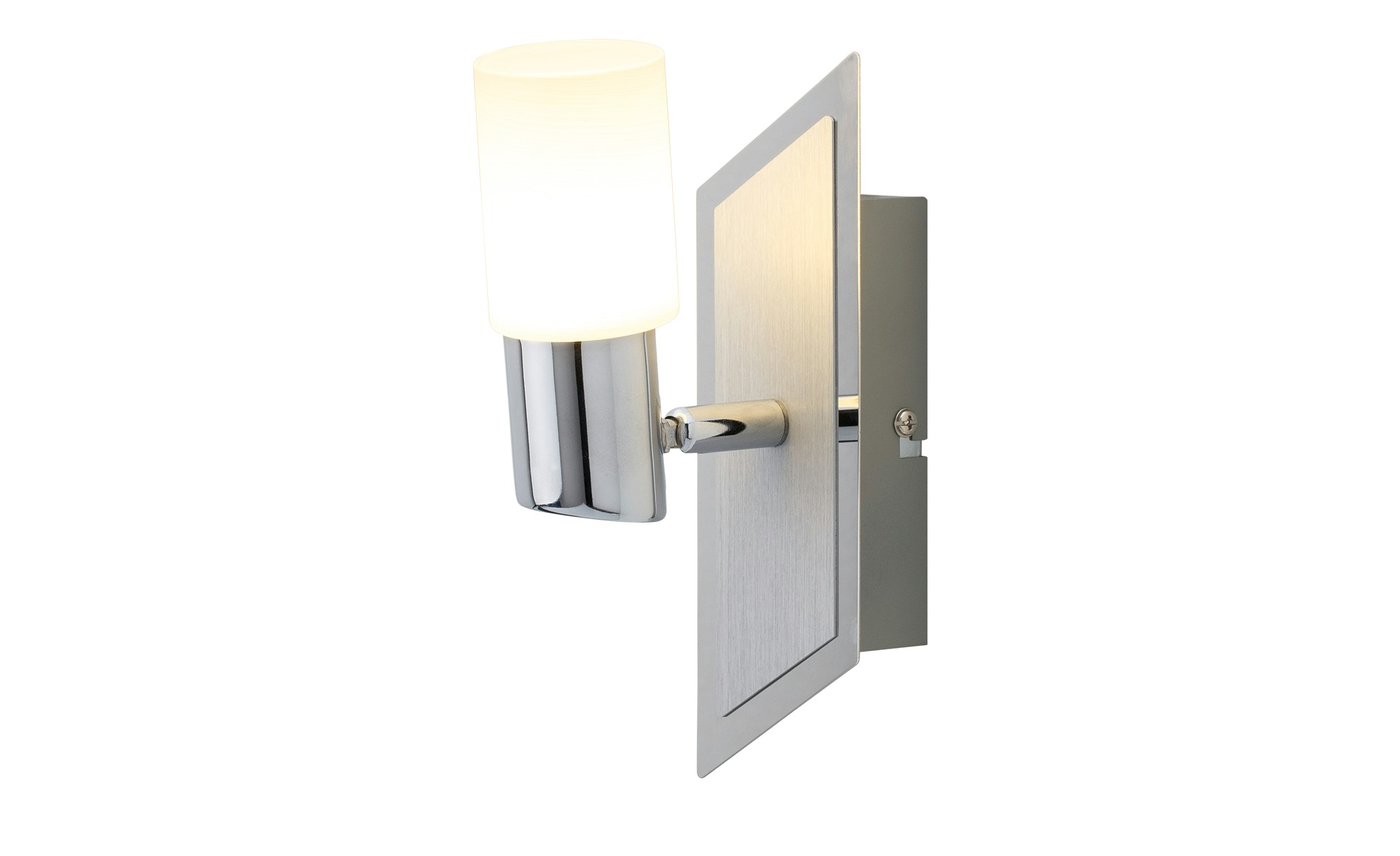 Trio LED-Wandstrahler Aluminium zylinderförmig ¦ silber Lampen & Leuchten > LED-Leuchten > LED-Strahler & Spots - Höffner