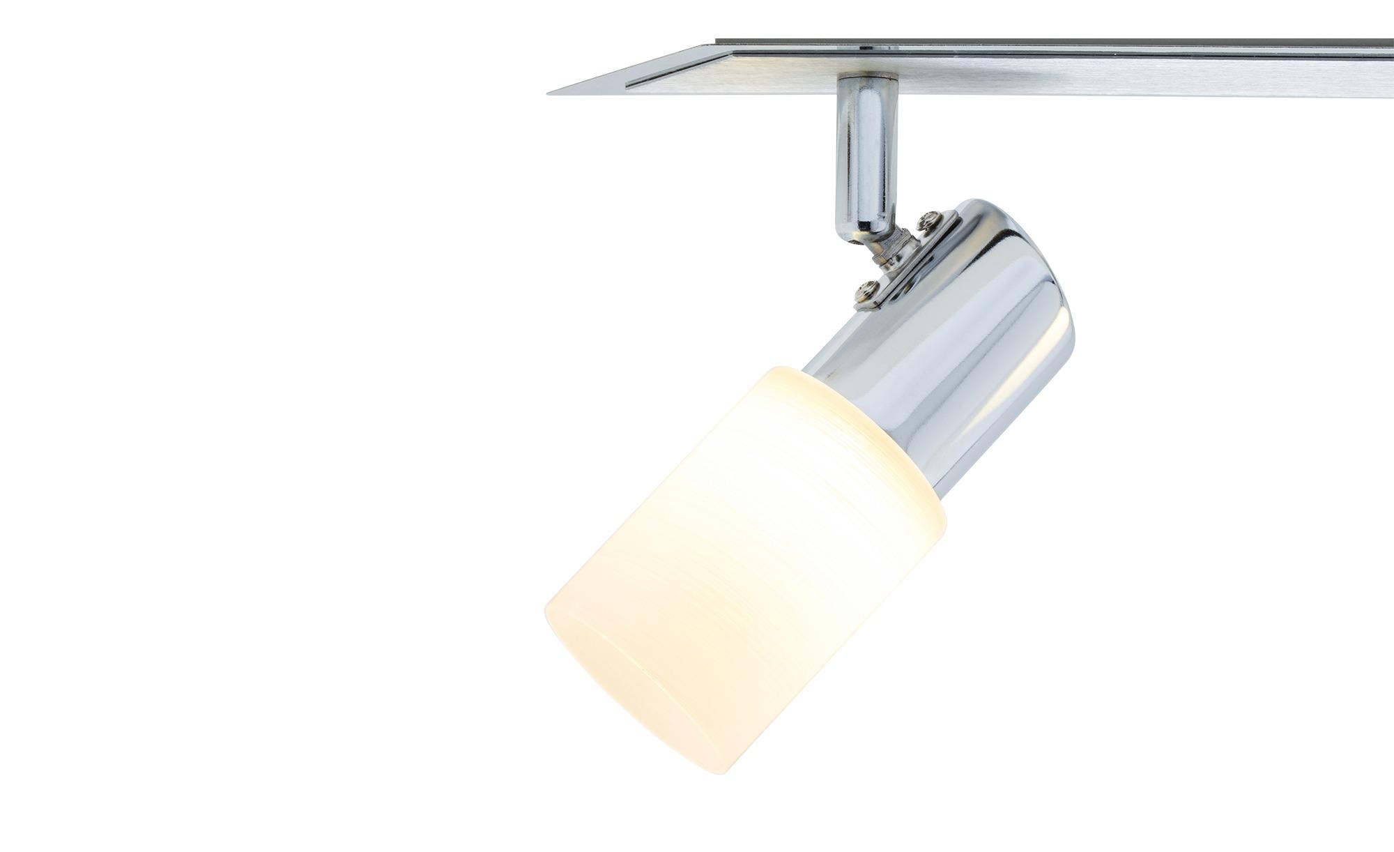 Trio LED-Deckenstrahler Aluminium 3-flammig ¦ silber Lampen & Leuchten > LED-Leuchten > LED-Strahler & Spots - Höffner