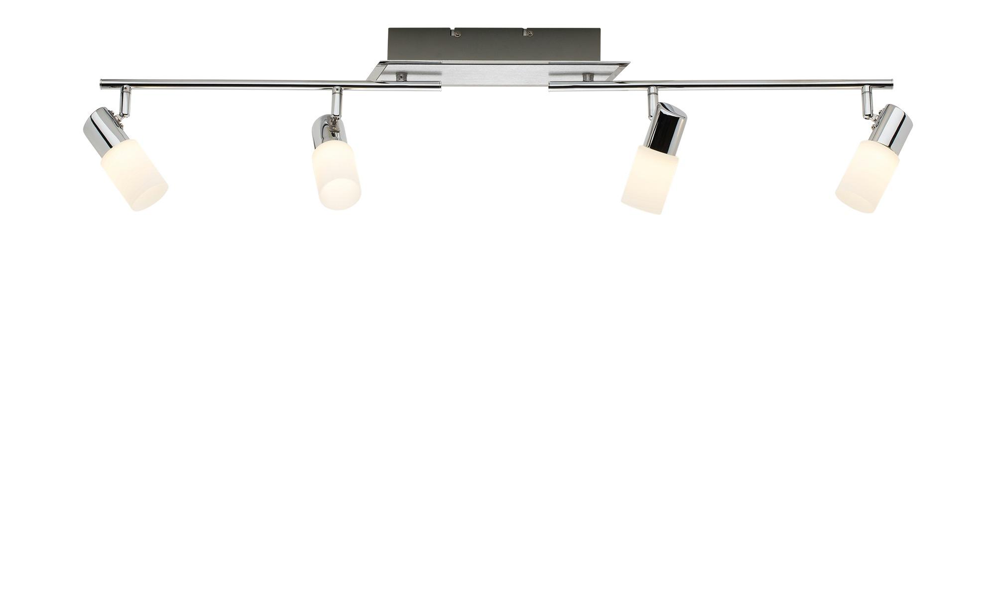 Trio LED-Deckenstrahler Aluminium 4-flammig ¦ silber Lampen & Leuchten > LED-Leuchten > LED-Strahler & Spots - Höffner