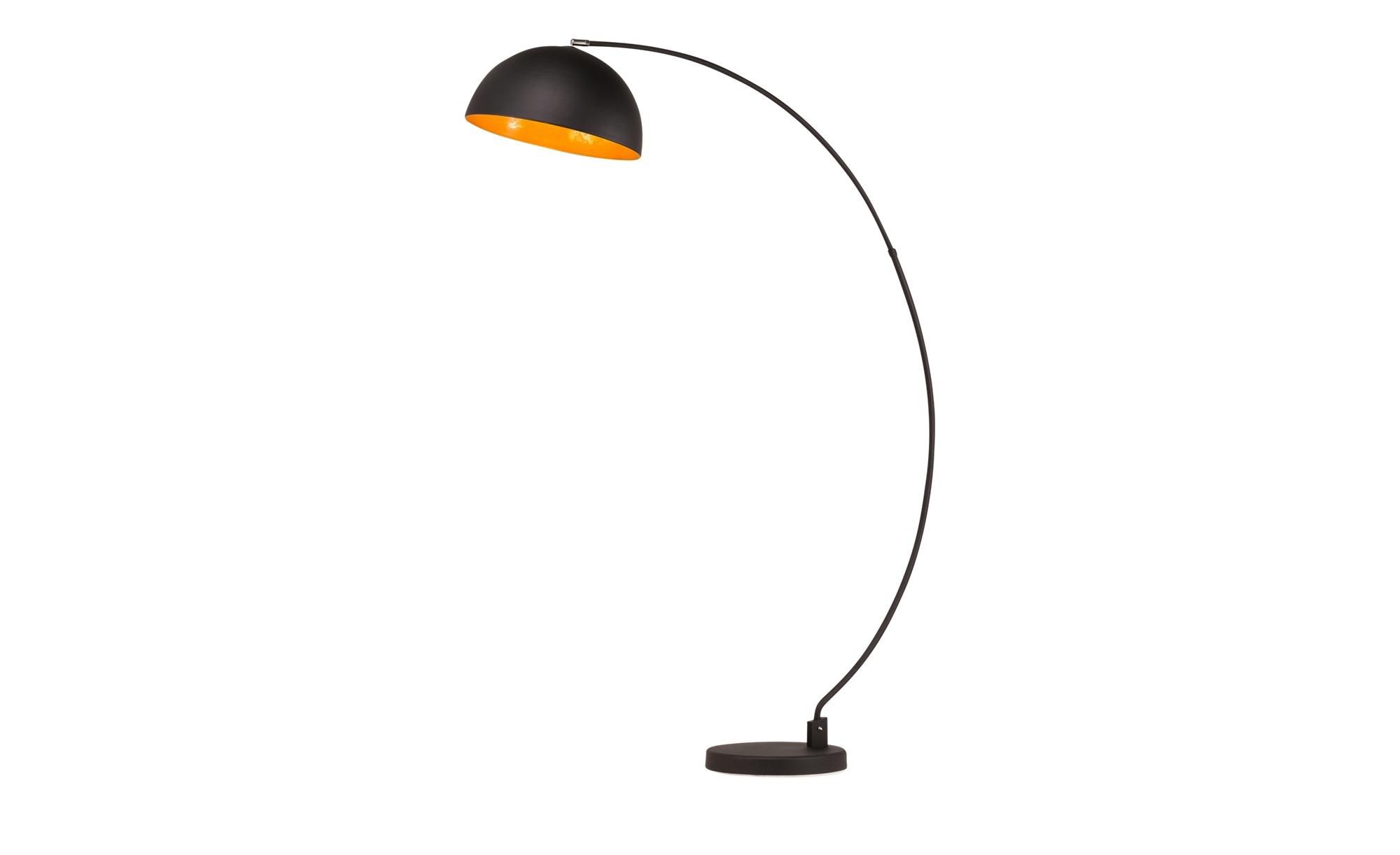 HOME STORY Stehleuchte im Industrial-Design ¦ schwarz ¦ Maße (cm): B: 115 H: 183 Lampen & Leuchten > Innenleuchten > Stehlampen - Höffner