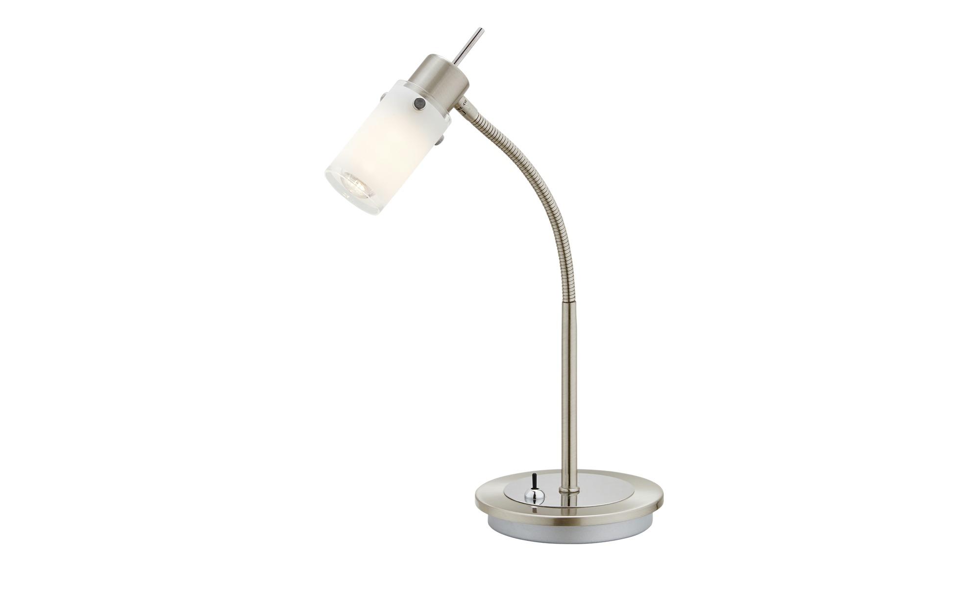 Paul Neuhaus LED- Tischleuchte, 1- flammig, Schwanenhals ¦ silber ¦ Maße (cm): H: 35 Lampen & Leuchten > Innenleuchten > Tischlampen - Höffner