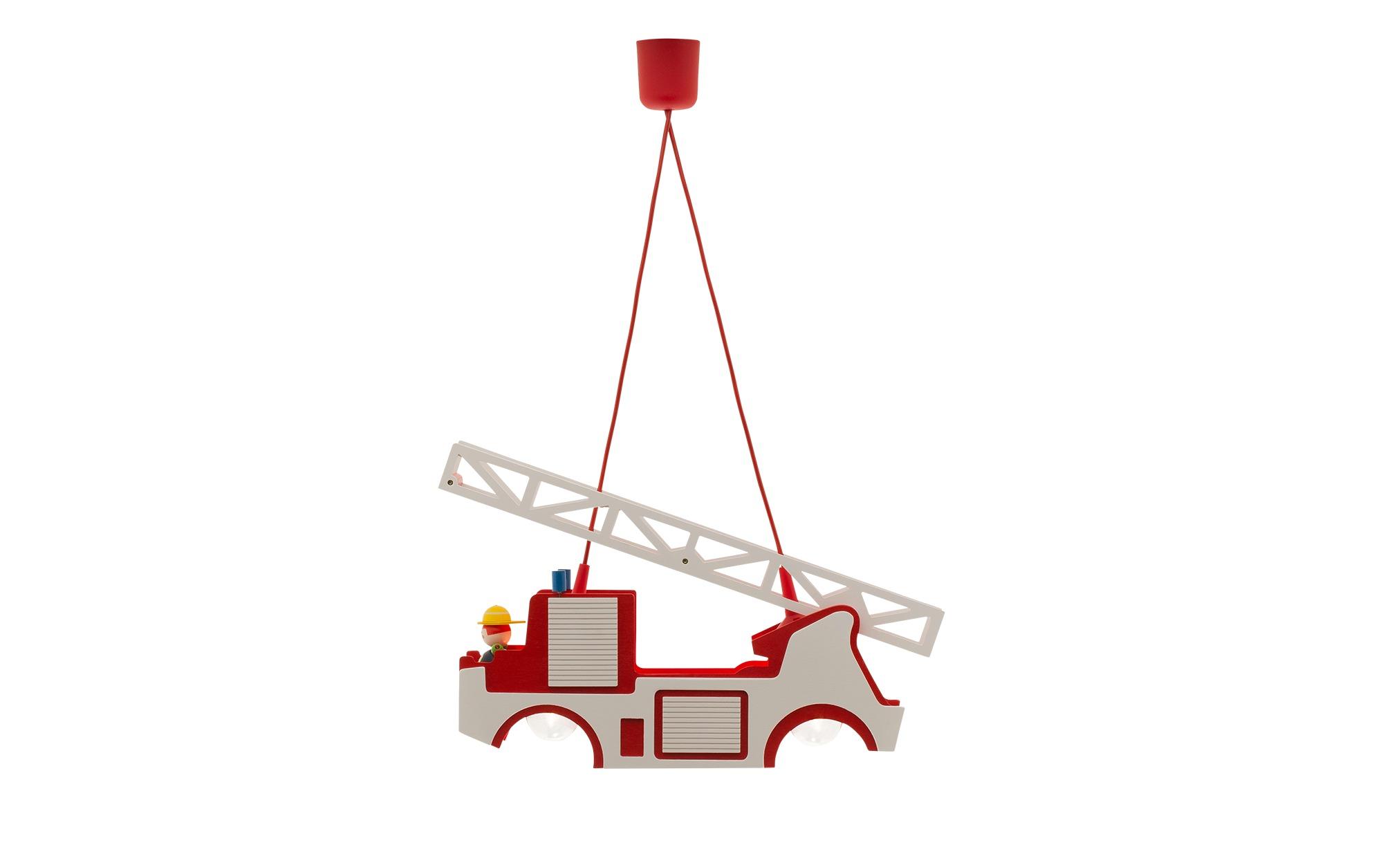 Pendelleuchte Feuerwehr Holz ¦ mehrfarbig ¦ Maße (cm): B: 11 H: 20 Lampen & Leuchten > Innenleuchten > Kinderlampen - Höffner