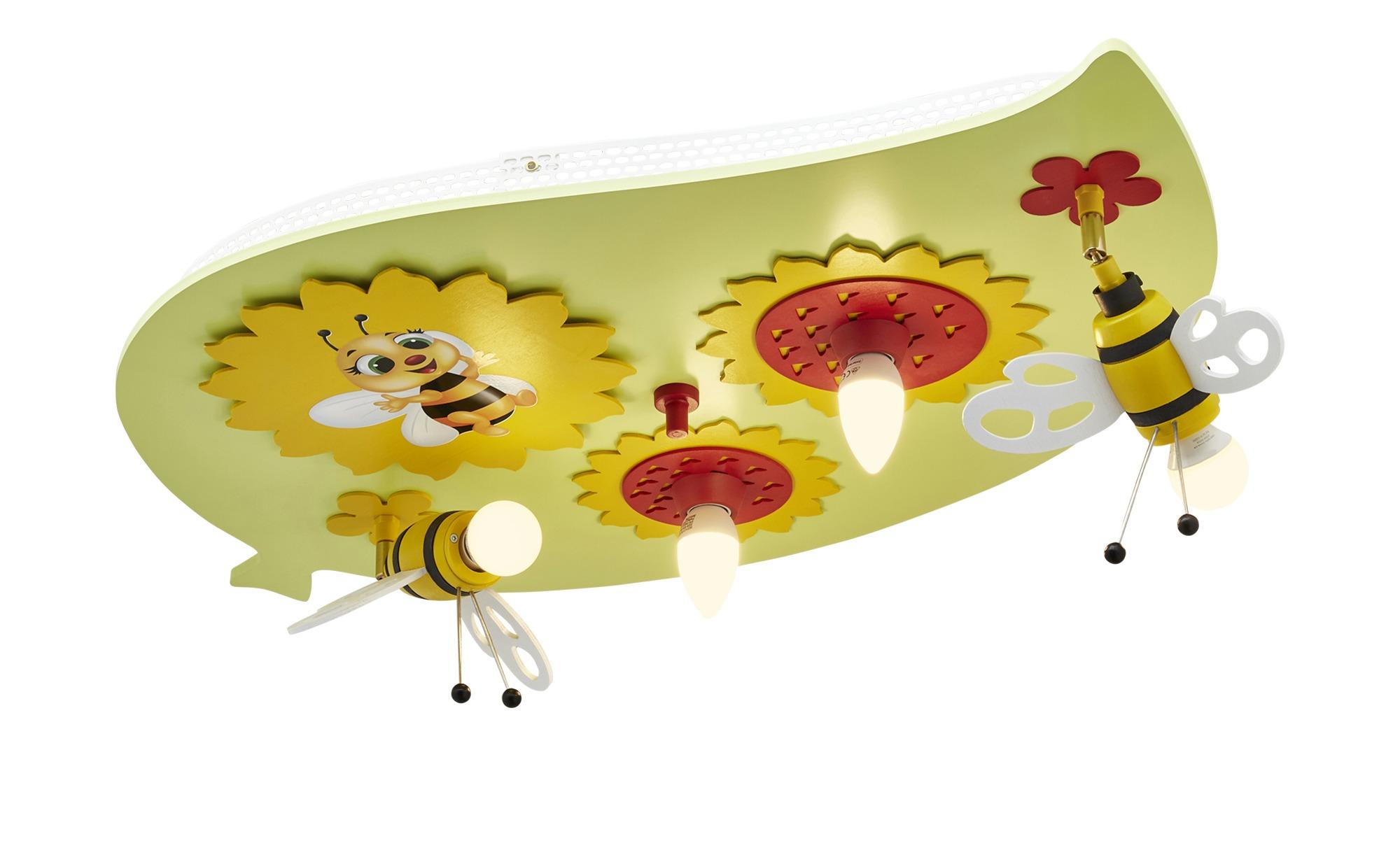 Deckenleuchte, Sonnenblume mit Biene ¦ grün ¦ Maße (cm): B: 50 Lampen & Leuchten > Innenleuchten > Kinderlampen - Höffner