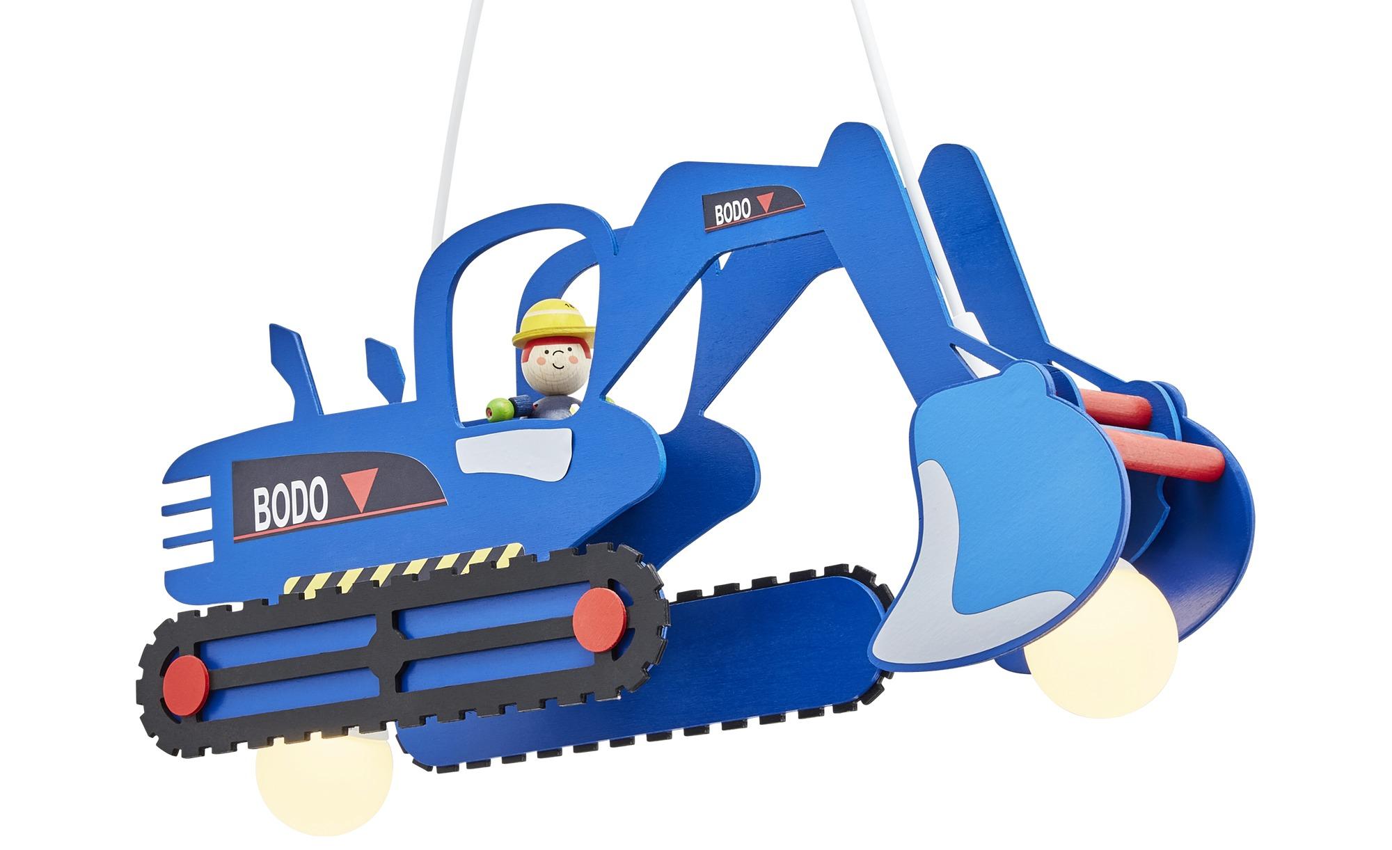 Pendelleuchte Bagger ¦ blau ¦ Maße (cm): B: 25 T: 30 Lampen & Leuchten > Innenleuchten > Kinderlampen - Höffner
