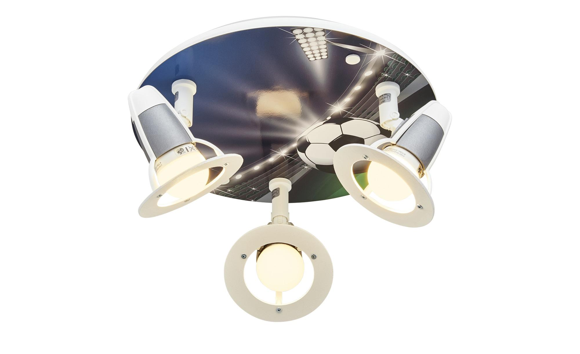 Deckenstrahler Fußball ¦ blau ¦ Maße (cm): B: 30 T: 20 Lampen & Leuchten > Innenleuchten > Deckenleuchten - Höffner