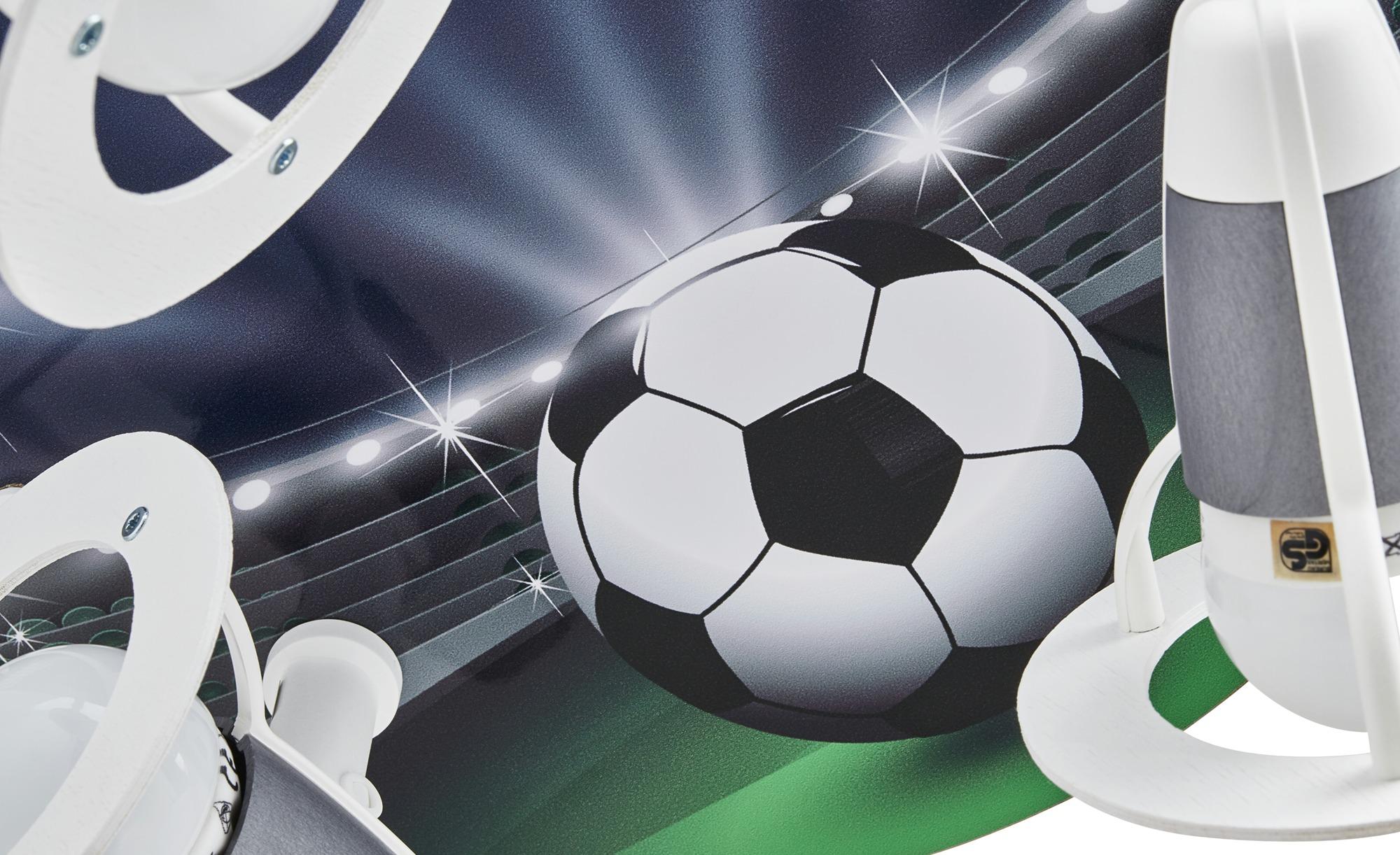 Deckenstrahler Fußball ¦ blau ¦ Maße (cm): B: 30 T: 20 Lampen & Leuchten > Innenleuchten > Kinderlampen - Höffner