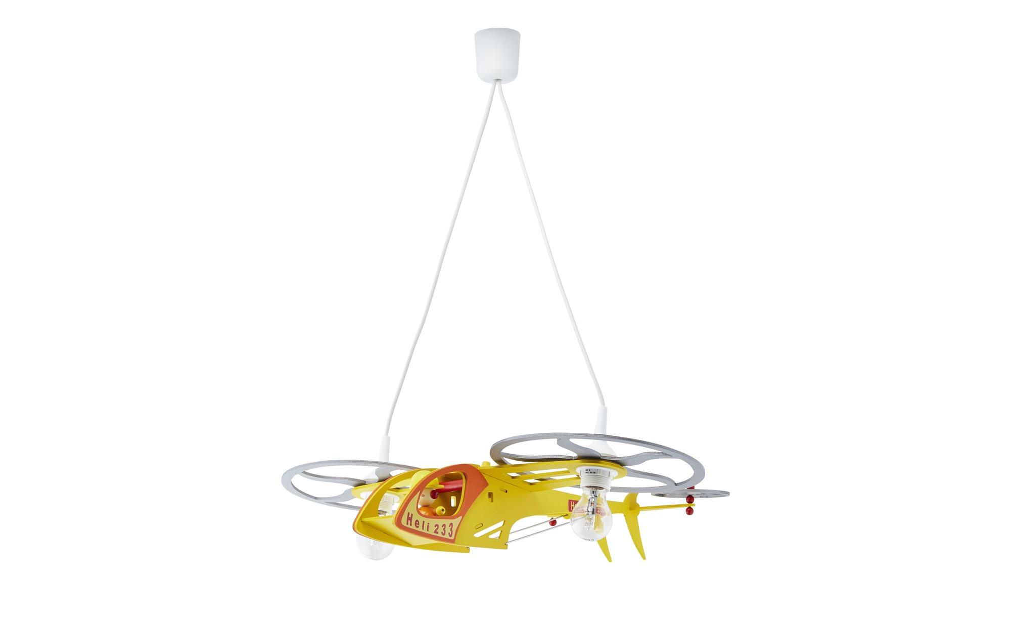 Pendelleuchte, 2-flammig, ´Heli´ ¦ gelb ¦ Maße (cm): B: 20 H: 25 Lampen & Leuchten > Innenleuchten > Kinderlampen - Höffner