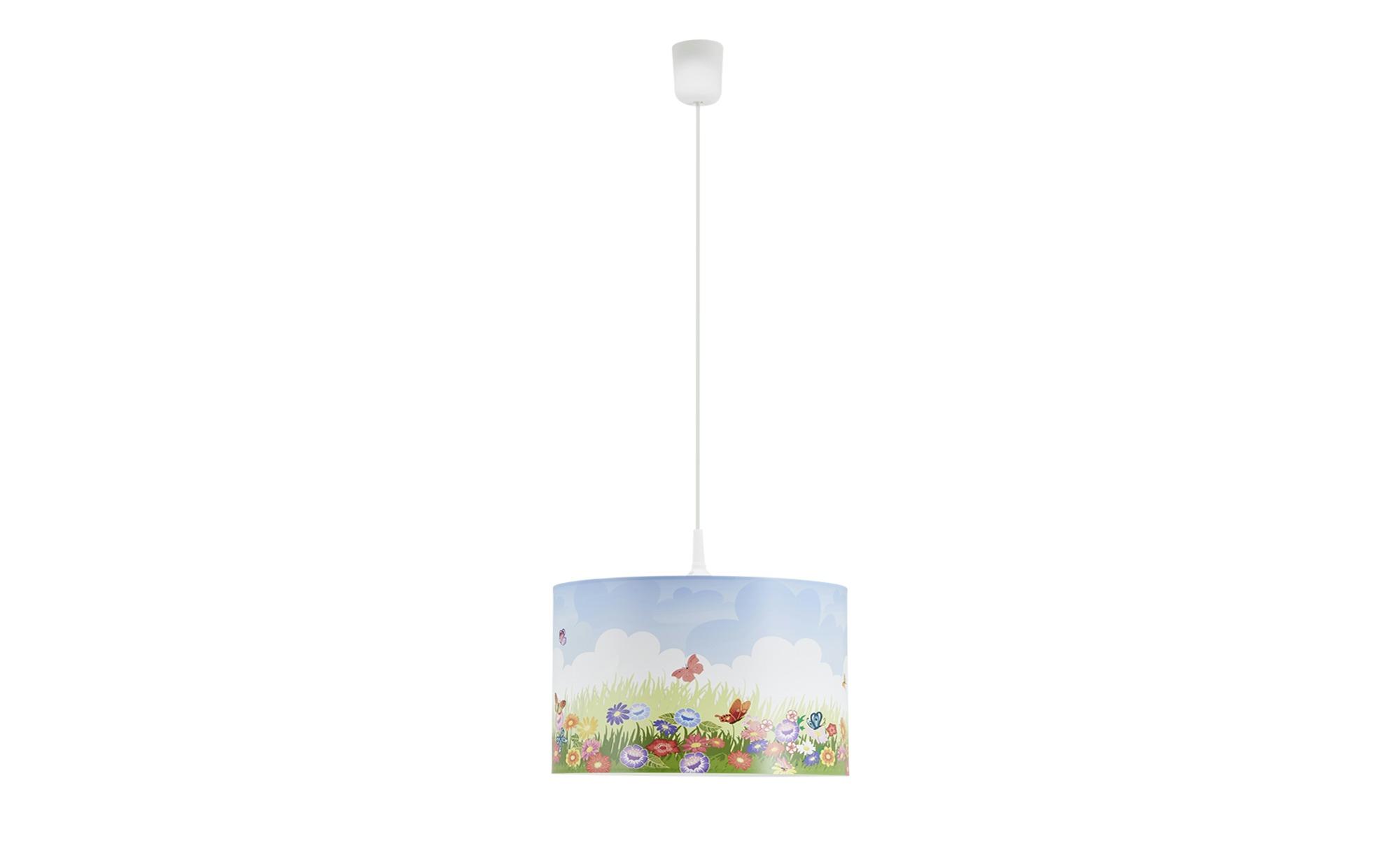 Pendelleuchte   Blumenwiese ¦ mehrfarbig ¦ Maße (cm): H: 25 Ø: 40 Lampen & Leuchten > Innenleuchten > Kinderlampen - Höffner