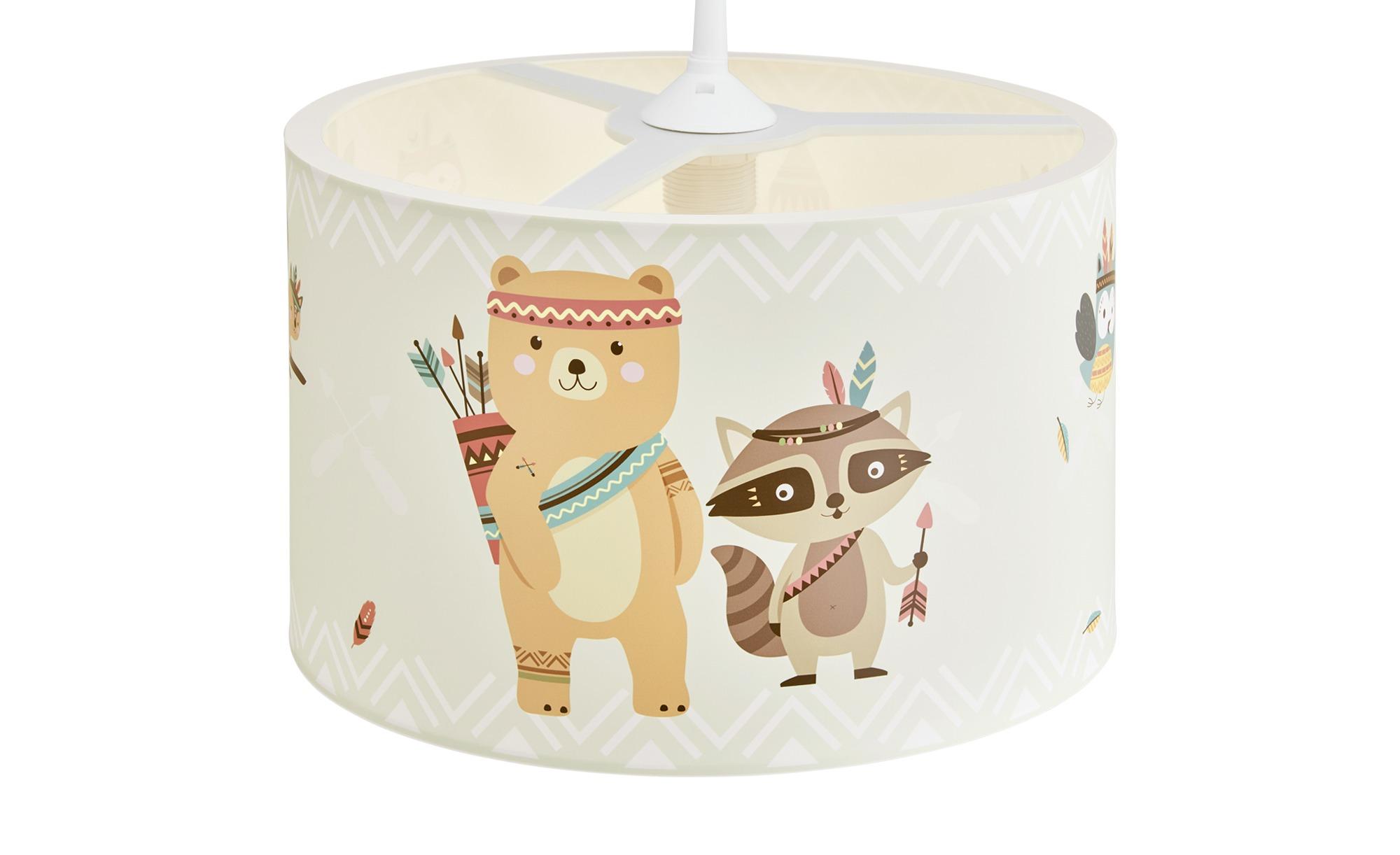 Pendelleuchte, Little Indians ¦ mehrfarbig ¦ Maße (cm): H: 25 Ø: [40.0] Lampen & Leuchten > Innenleuchten > Kinderlampen - Höffner