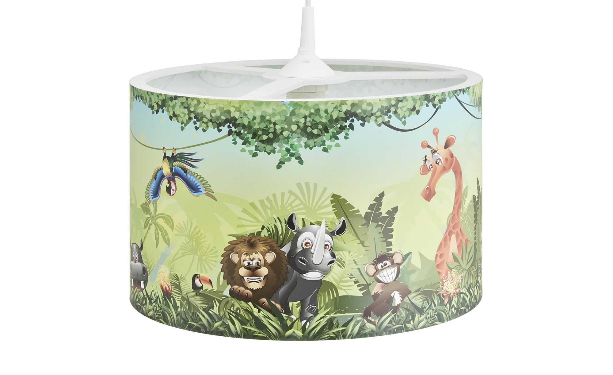 Pendelleuchte, Wildnis ¦ grün ¦ Maße (cm): H: 25 Ø: [40.0] Lampen & Leuchten > Innenleuchten > Kinderlampen - Höffner