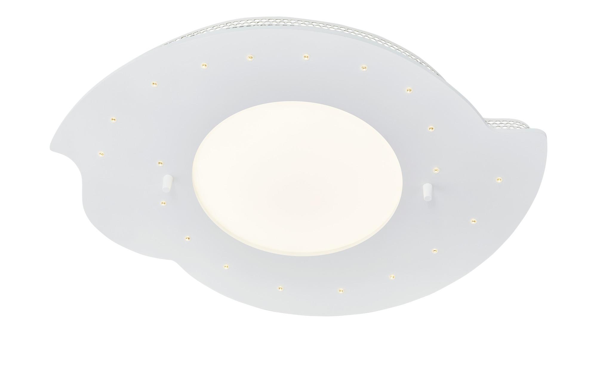 LED-Deckenleuchte, Weiß mit Serienschalter ¦ weiß ¦ Maße (cm): B: 50 T: 20 Lampen & Leuchten > Innenleuchten > Kinderlampen - Höffner