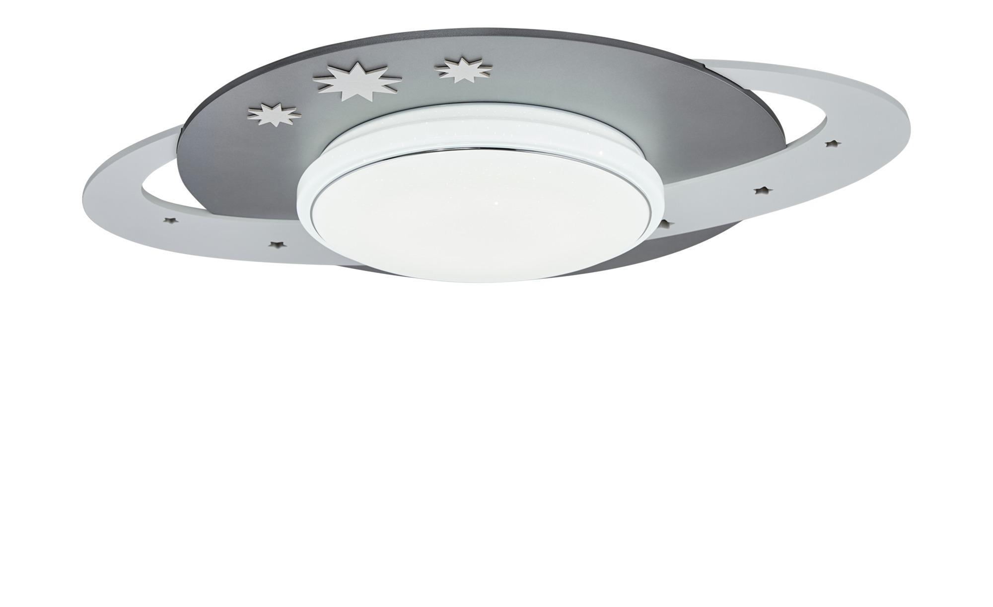 LED-Deckenleuchte ´Saturn´ ¦ grau ¦ Maße (cm): B: 50 T: 20 Lampen & Leuchten > Innenleuchten > Kinderlampen - Höffner