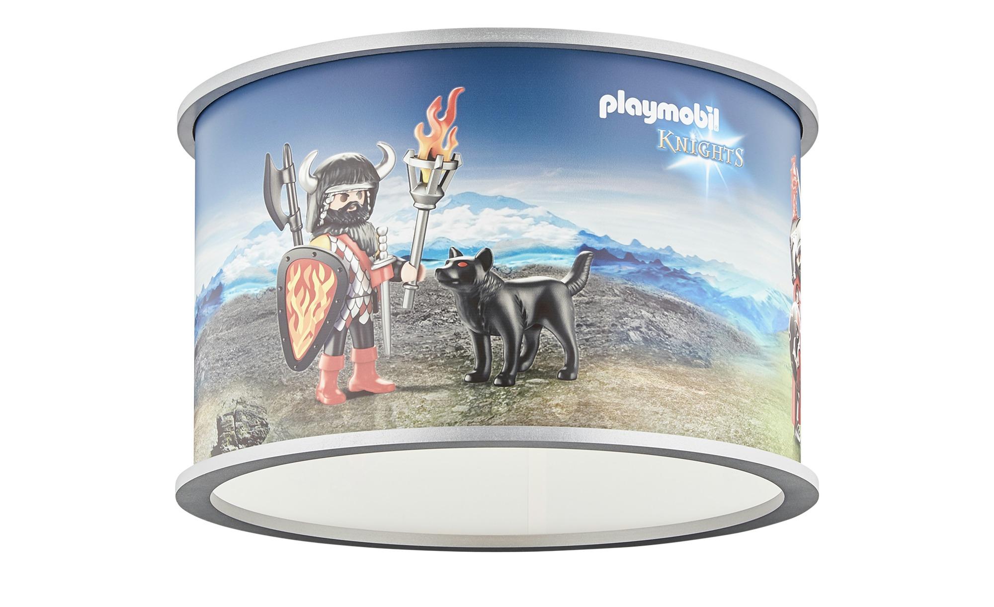 Playmobil Pendelleuchte, 1-flammig, Playmobil `Knights` ¦ blau ¦ Maße (cm): H: 25 Ø: 40 Lampen & Leuchten > Innenleuchten > Kinderlampen - Höffner