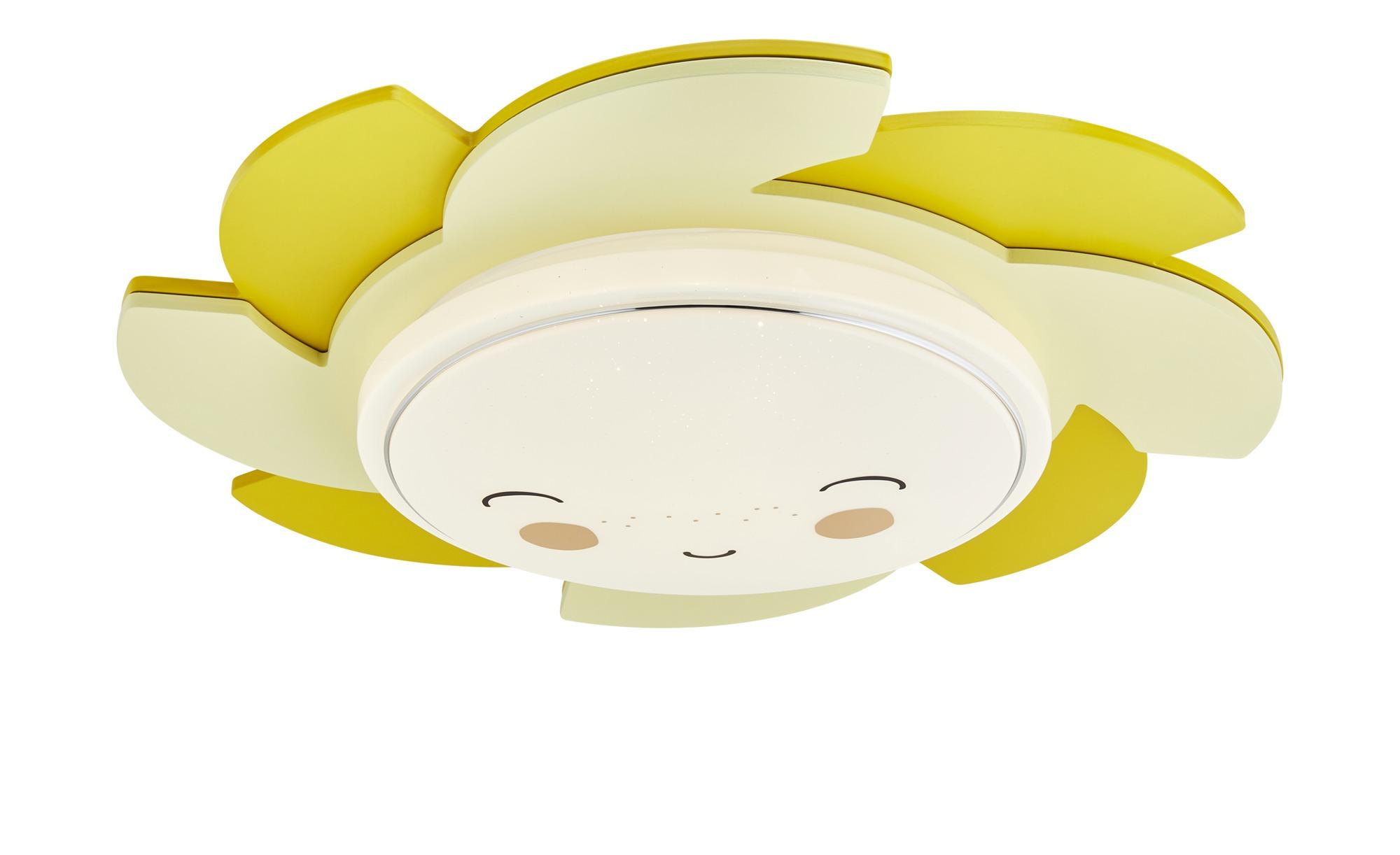 LED-Deckenleuchte, Gelb  Starlight ¦ gelb ¦ Maße (cm): H: 20 Ø: [60.0] Lampen & Leuchten > Innenleuchten > Kinderlampen - Höffner
