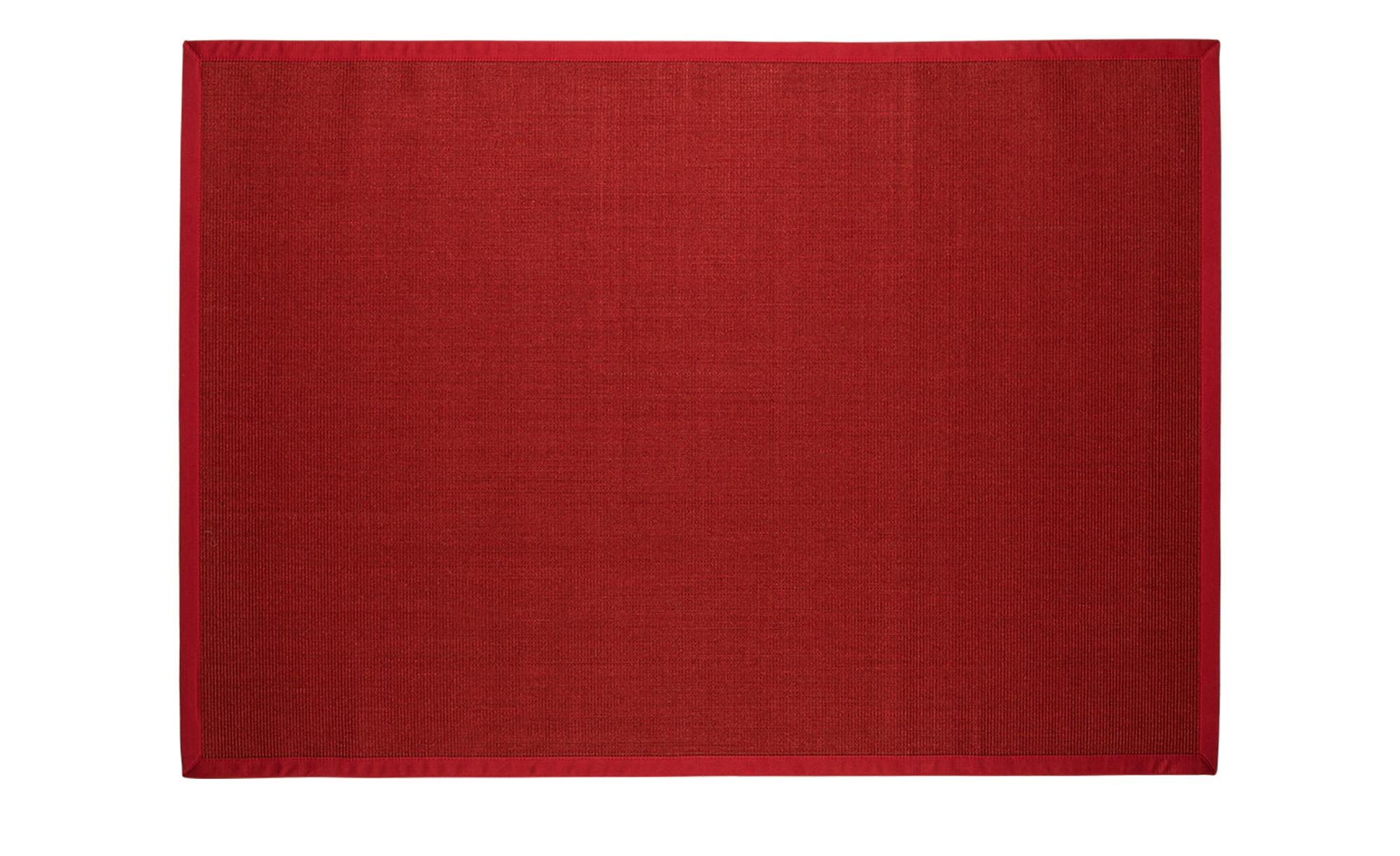 Sisal-Teppich  Manaus ¦ rot ¦ 100 % Sisal, Sisal ¦ Maße (cm): B: 140 Teppiche > Wohnteppiche - Höffner