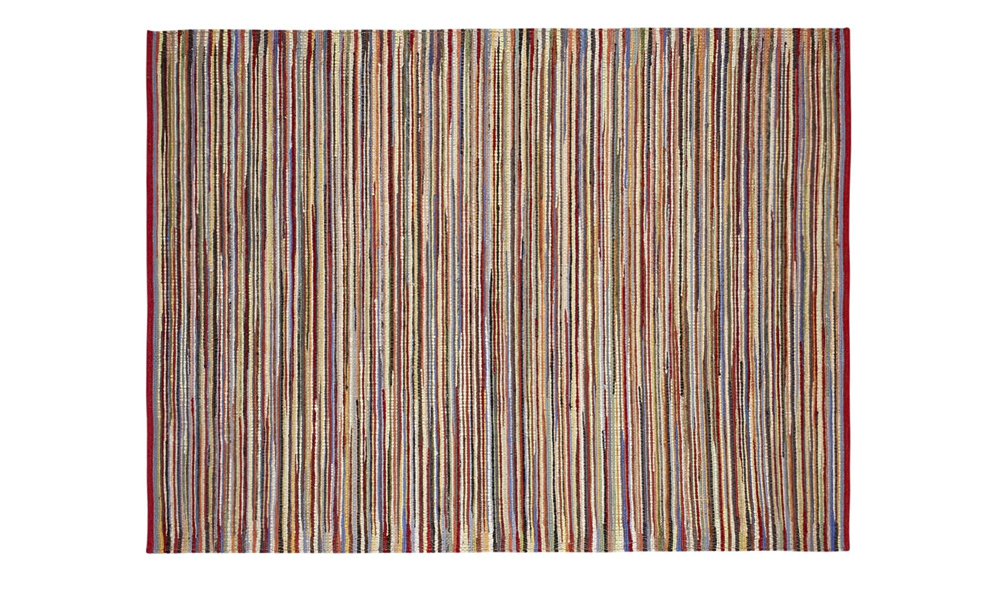 Handweber-Teppich  Bernau ¦ mehrfarbig ¦ 100 % Schurwolle ¦ Maße (cm): B: 90 Teppiche > Wohnteppiche - Höffner