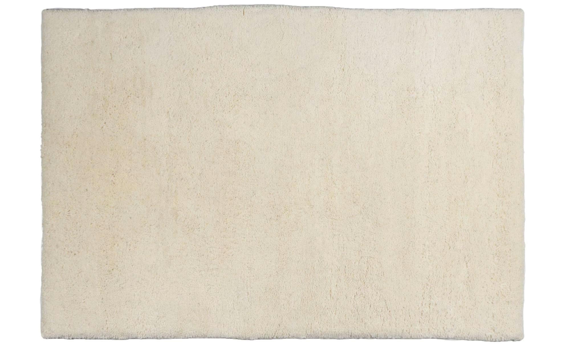 Berber-Teppich  Rabat ¦ creme ¦ reine Wolle, Wolle ¦ Maße (cm): B: 90 Teppiche > Wohnteppiche > Naturteppiche - Höffner | Heimtextilien > Teppiche > Berberteppiche | Möbel Höffner DE