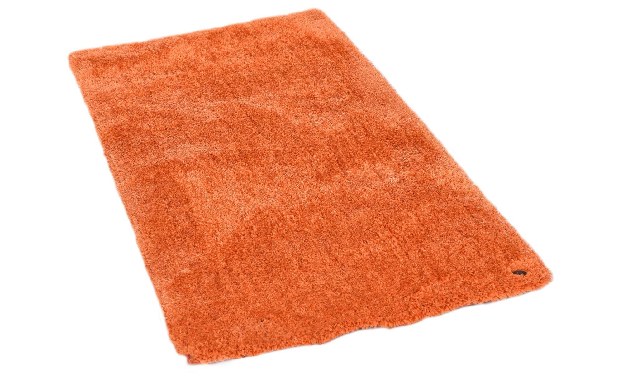 Tom Tailor Handtuft-Teppich  Soft uni ¦ orange ¦ 100 % Polypropylen, Synthethische Fasern ¦ Maße (cm): B: 160 Teppiche > Wohnteppiche > Hochflorteppiche - Höffner   Heimtextilien > Teppiche > Hochflorteppiche   Orange   Möbel Höffner DE