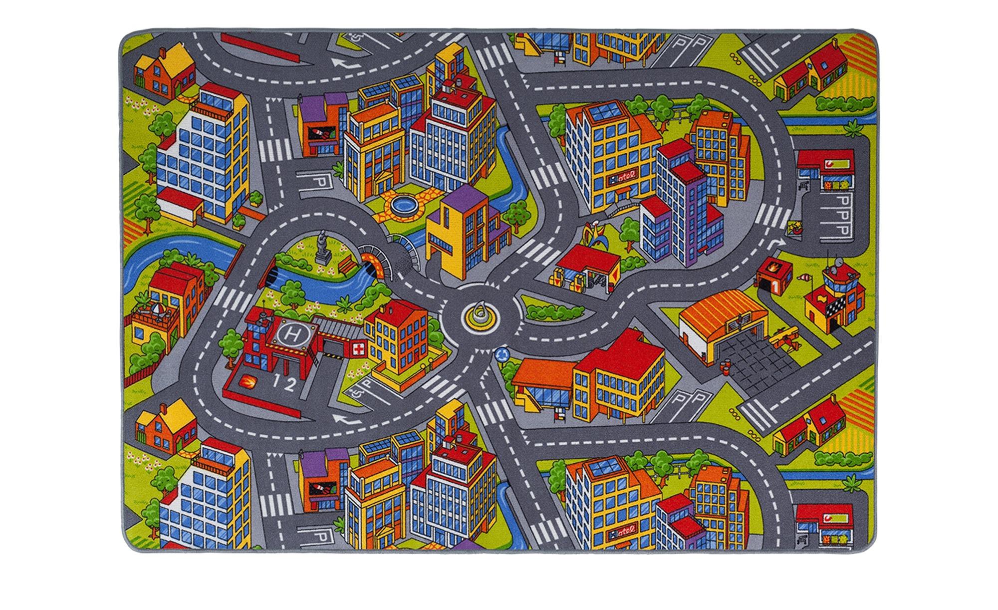 for friends Webteppich  Straßenteppich ¦ mehrfarbig ¦ 100 % Polyamid ¦ Maße (cm): B: 140 Teppiche > Kinderteppiche - Höffner