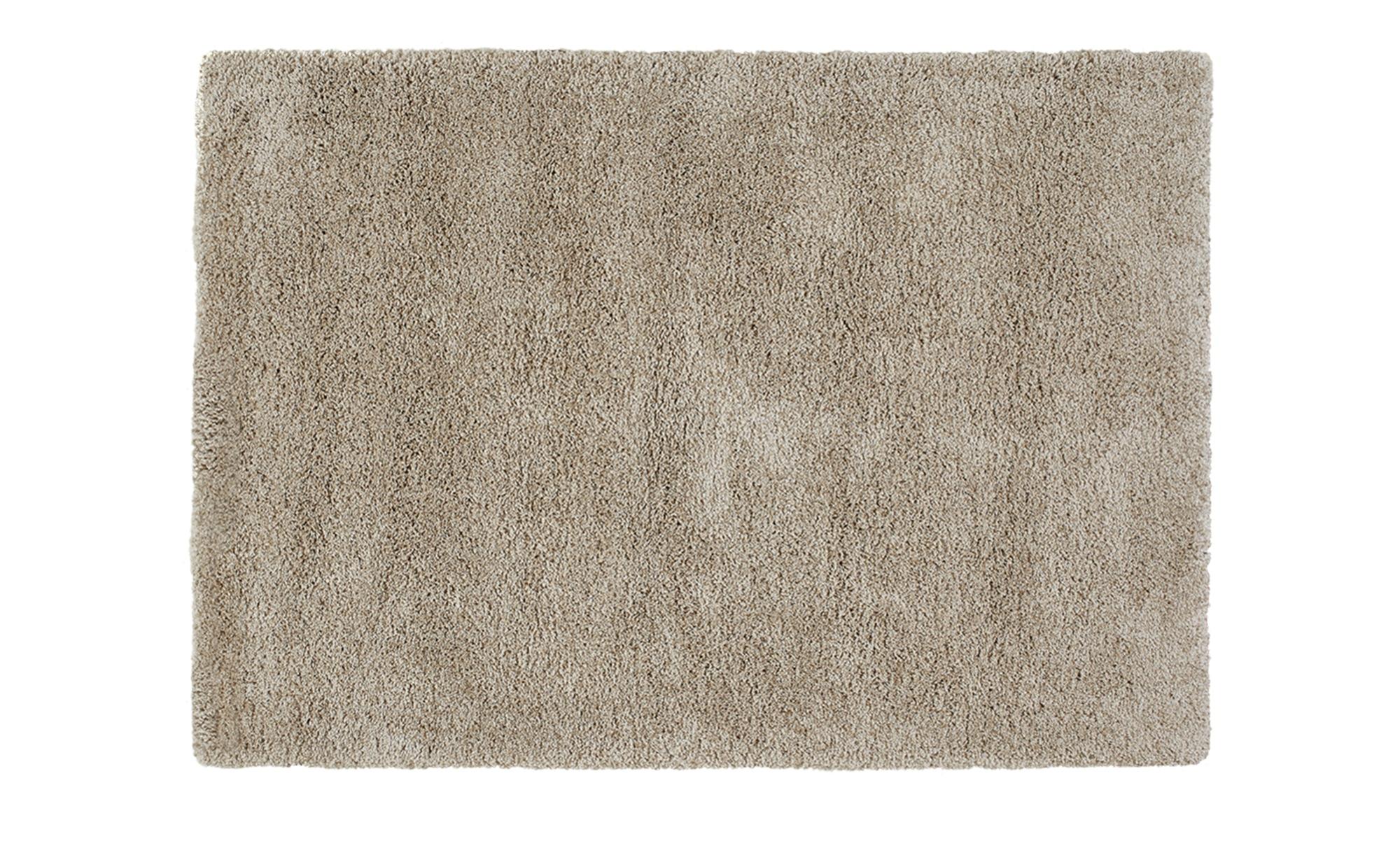 Webteppich  Shaggy Royal ¦ beige ¦ 100 % Polypropylen, Synthethische Fasern ¦ Maße (cm): B: 140 Teppiche > Wohnteppiche - Höffner