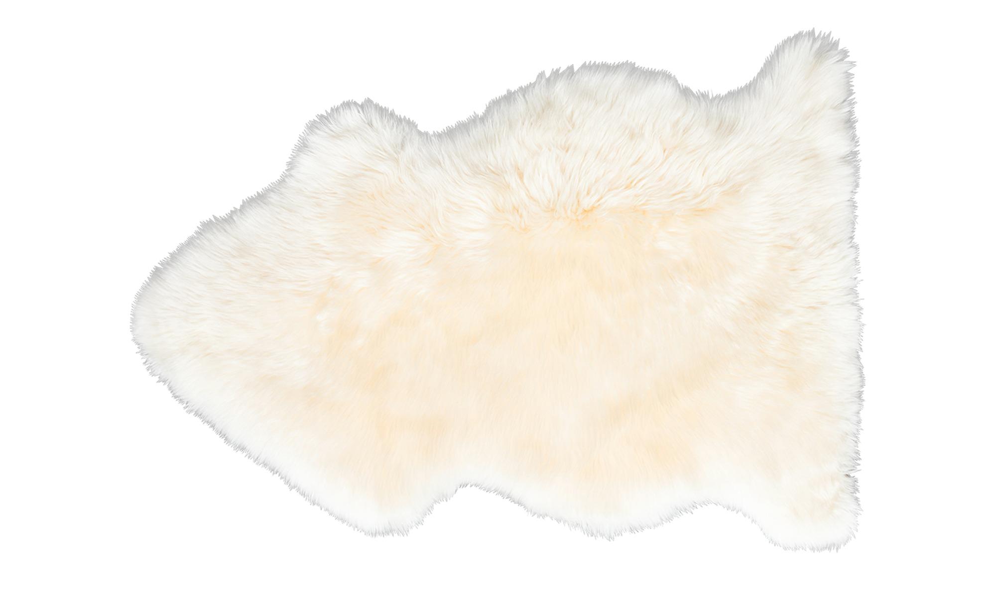 Wollschaf-Lammfell ¦ beige ¦ 100% Lammfell ¦ Maße (cm): B: 73 Teppiche > Felle - Höffner